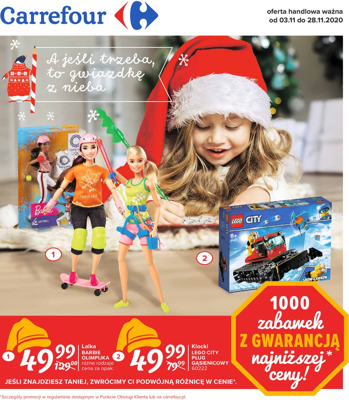 Gazetka promocyjna Carrefour - 03.11-28.11.2020