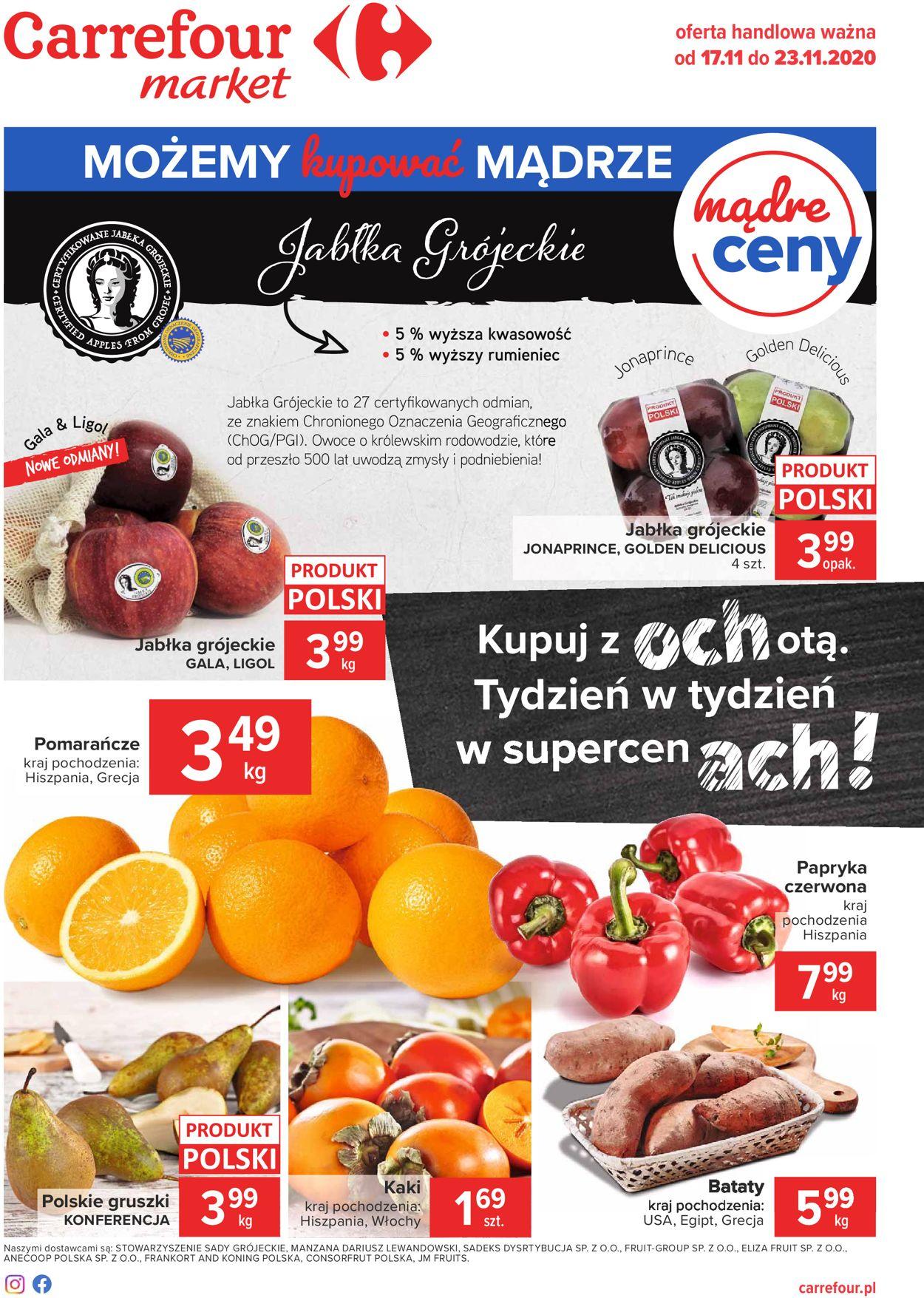 Gazetka promocyjna Carrefour - 17.11-23.11.2020