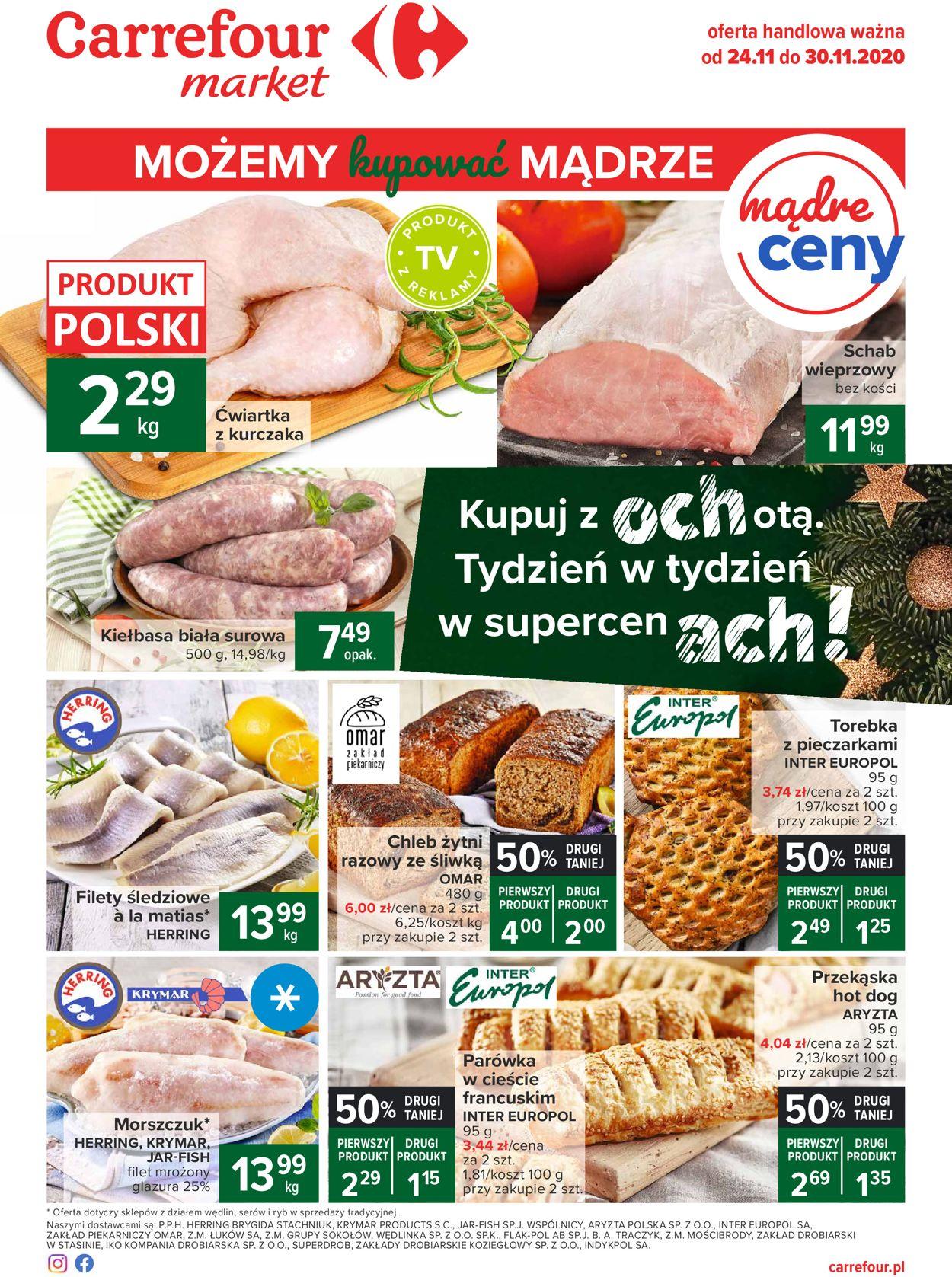 Gazetka promocyjna Carrefour Black Friday 2020 - 24.11-30.11.2020