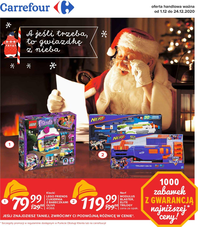 Gazetka promocyjna Carrefour Boże Narodzenie 2020 - 01.12-24.12.2020