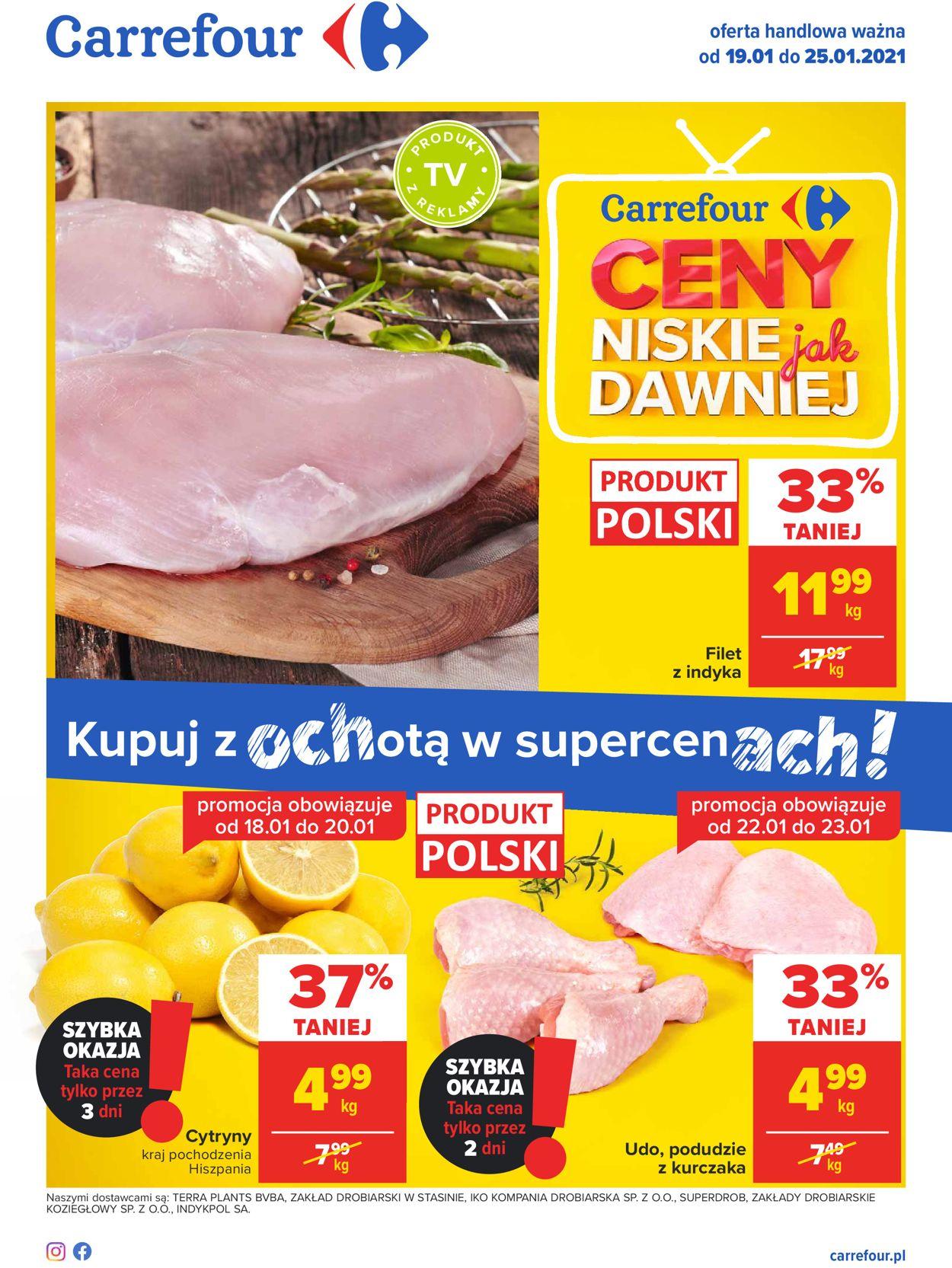 Gazetka promocyjna Carrefour - 19.01-25.01.2021