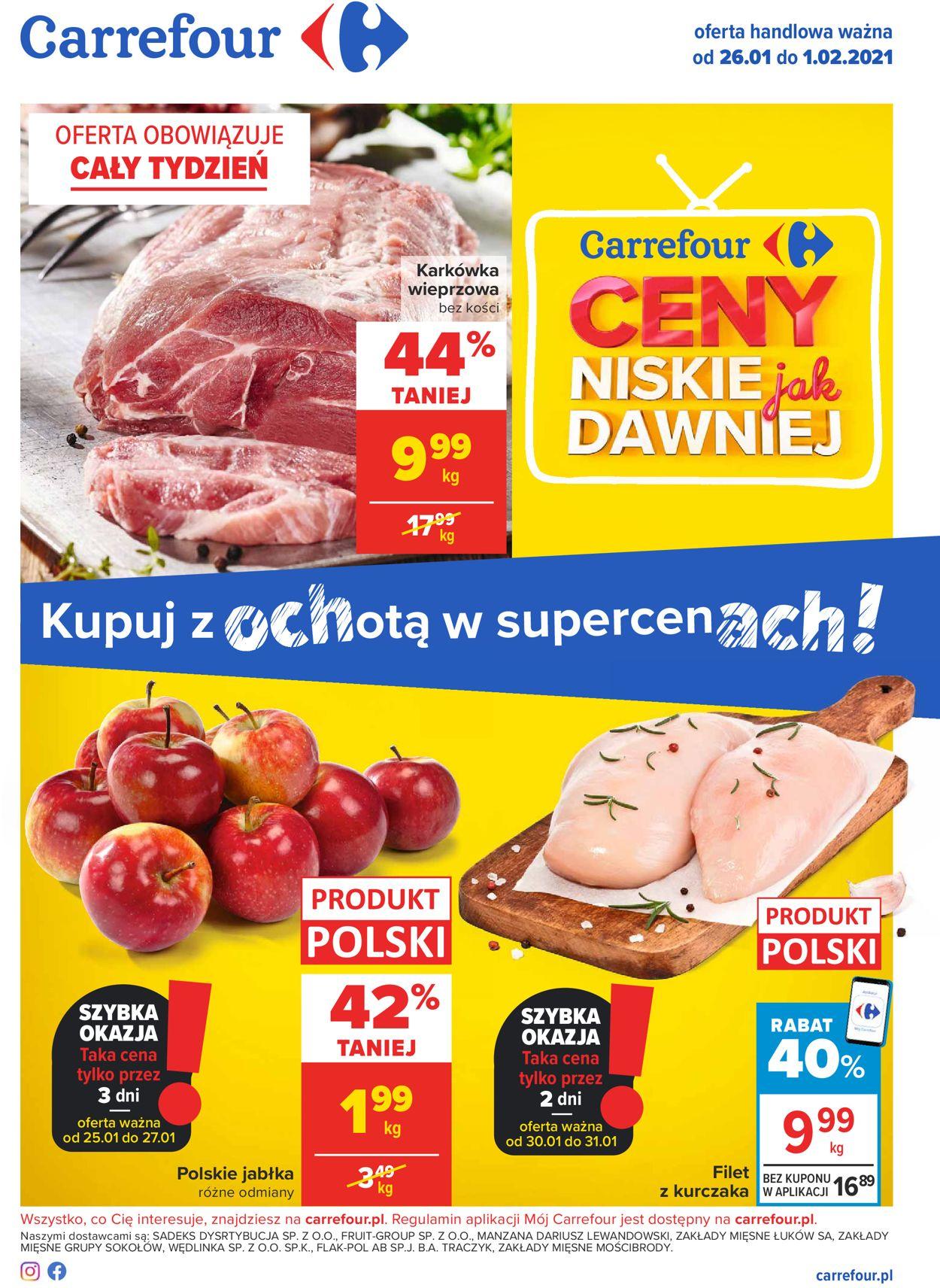 Gazetka promocyjna Carrefour - 26.01-01.02.2021