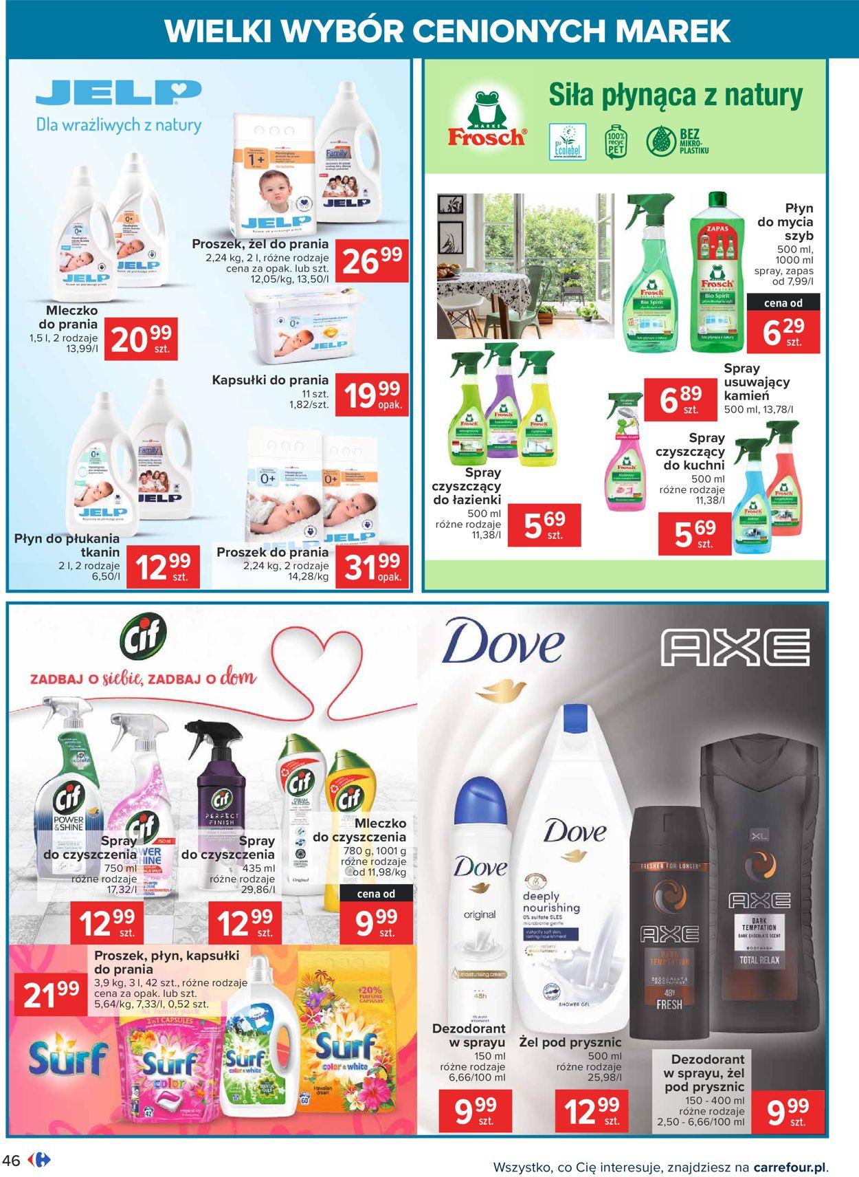 Gazetka promocyjna Carrefour Wielki wybór cenionych marek - 09.02-20.02.2021 (Strona 46)