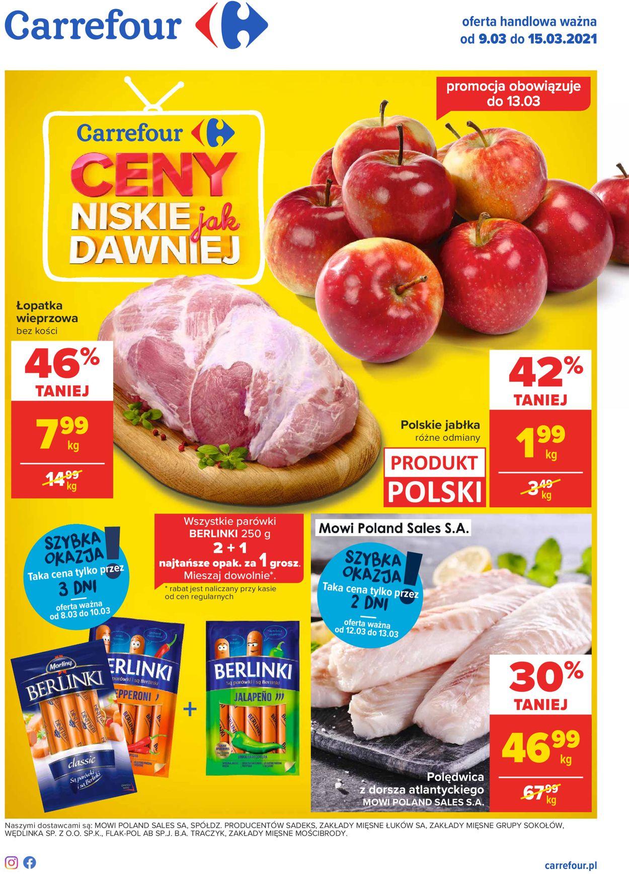 Gazetka promocyjna Carrefour - 09.03-15.03.2021