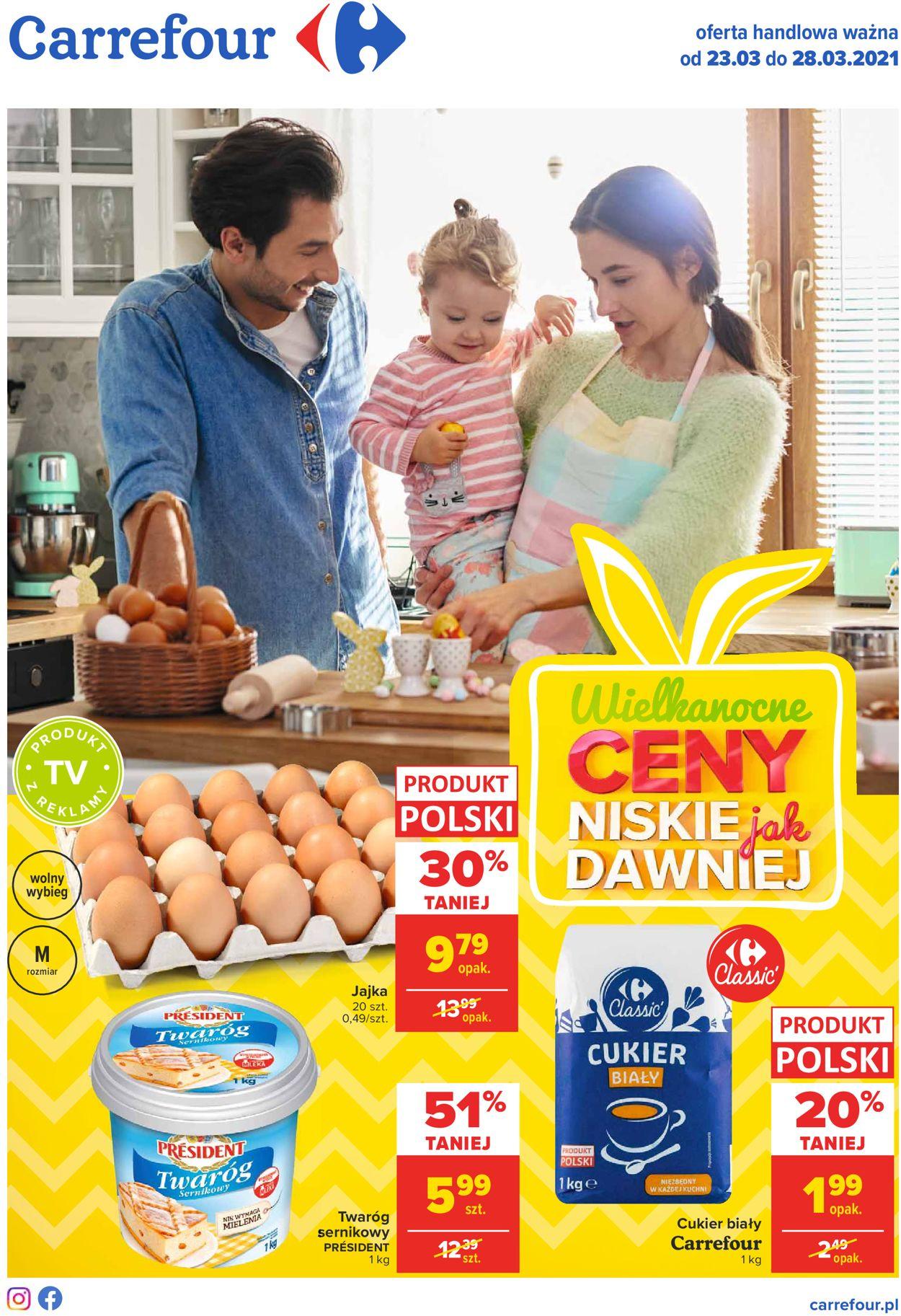 Gazetka promocyjna Carrefour Wielkanoc 2021 - 23.03-28.03.2021