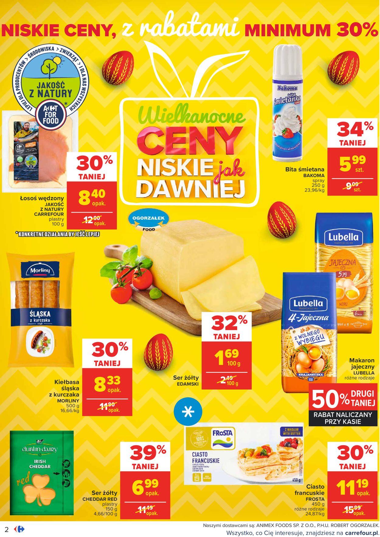 Gazetka promocyjna Carrefour Wielkanoc 2021 - 23.03-28.03.2021 (Strona 2)