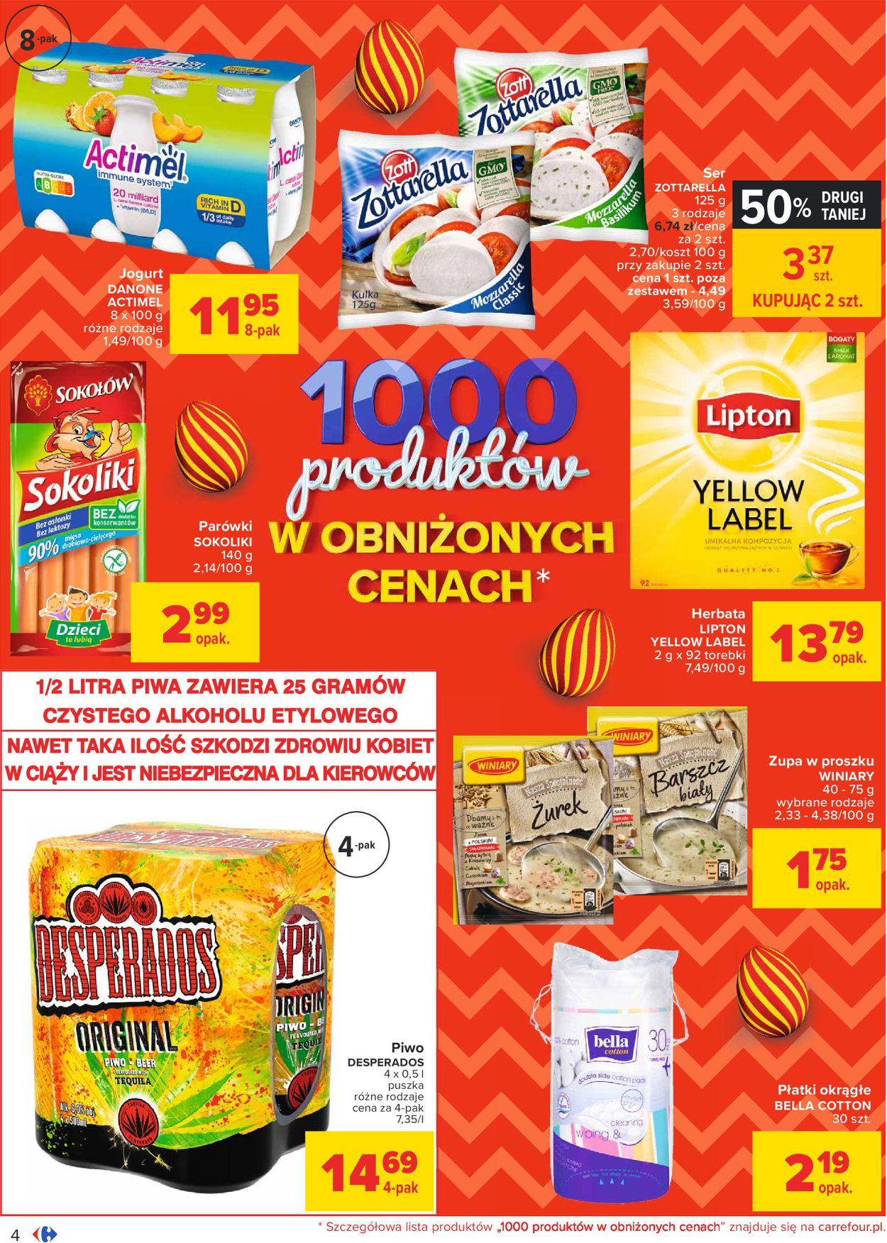 Gazetka promocyjna Carrefour Wielkanoc 2021 - 23.03-28.03.2021 (Strona 4)