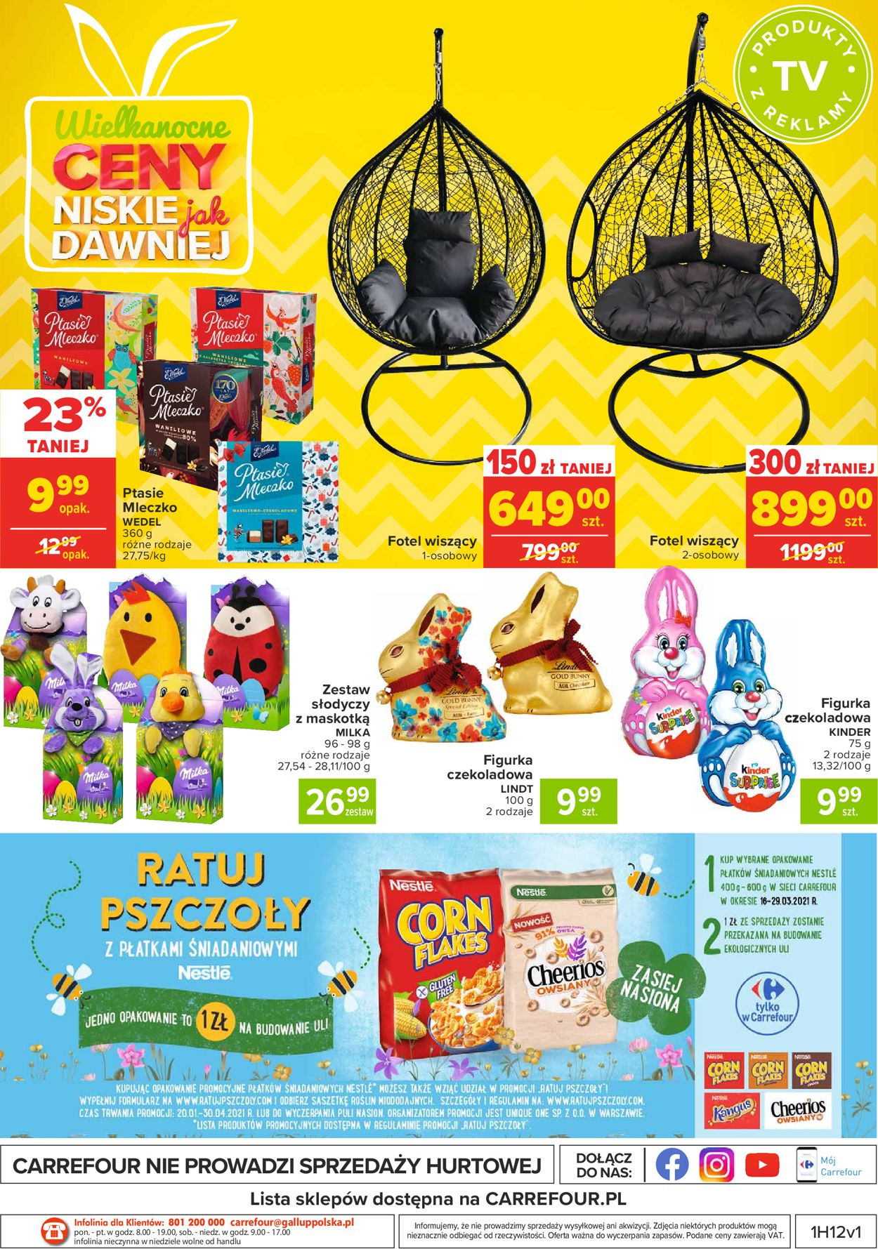 Gazetka promocyjna Carrefour Wielkanoc 2021 - 23.03-28.03.2021 (Strona 40)