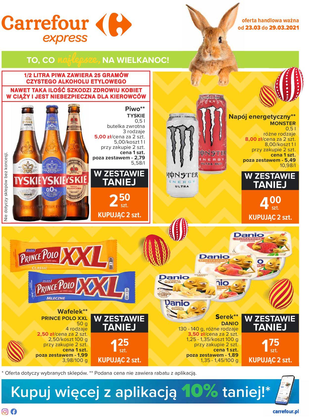 Gazetka promocyjna Carrefour Wielkanoc 2021 - 23.03-29.03.2021