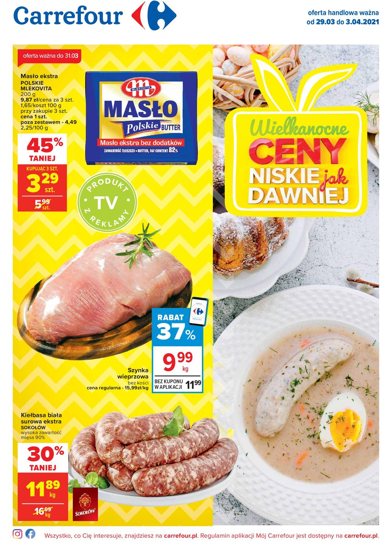 Gazetka promocyjna Carrefour Wielkanoc 2021! - 29.03-03.04.2021