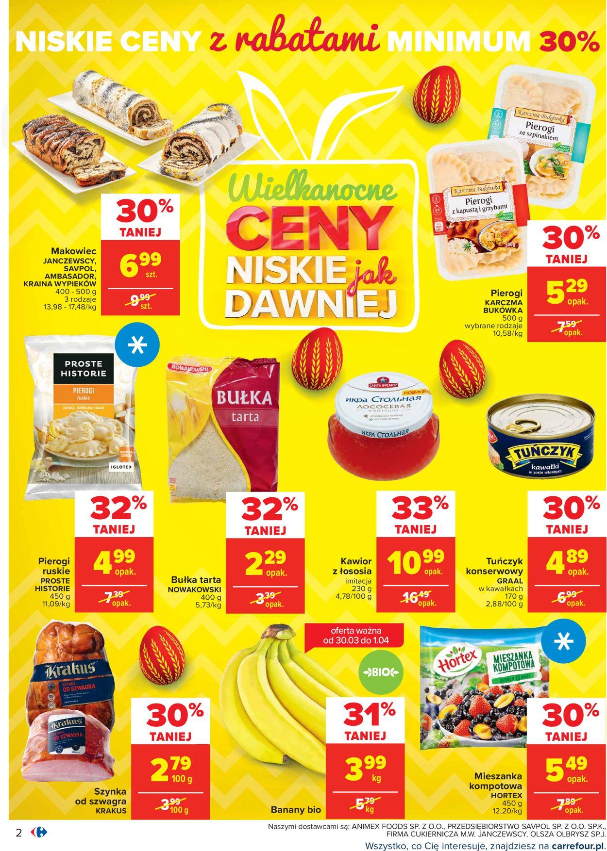 Gazetka promocyjna Carrefour Wielkanoc 2021! - 29.03-03.04.2021 (Strona 2)