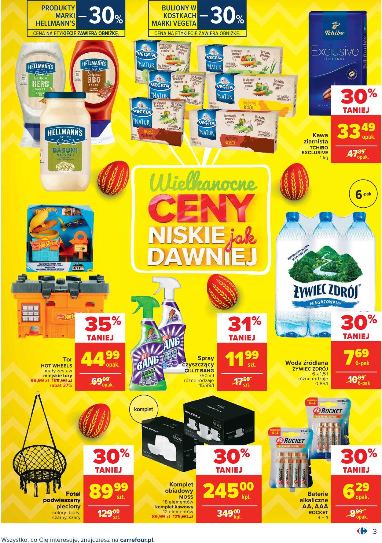 Gazetka promocyjna Carrefour Wielkanoc 2021! - 29.03-03.04.2021 (Strona 3)