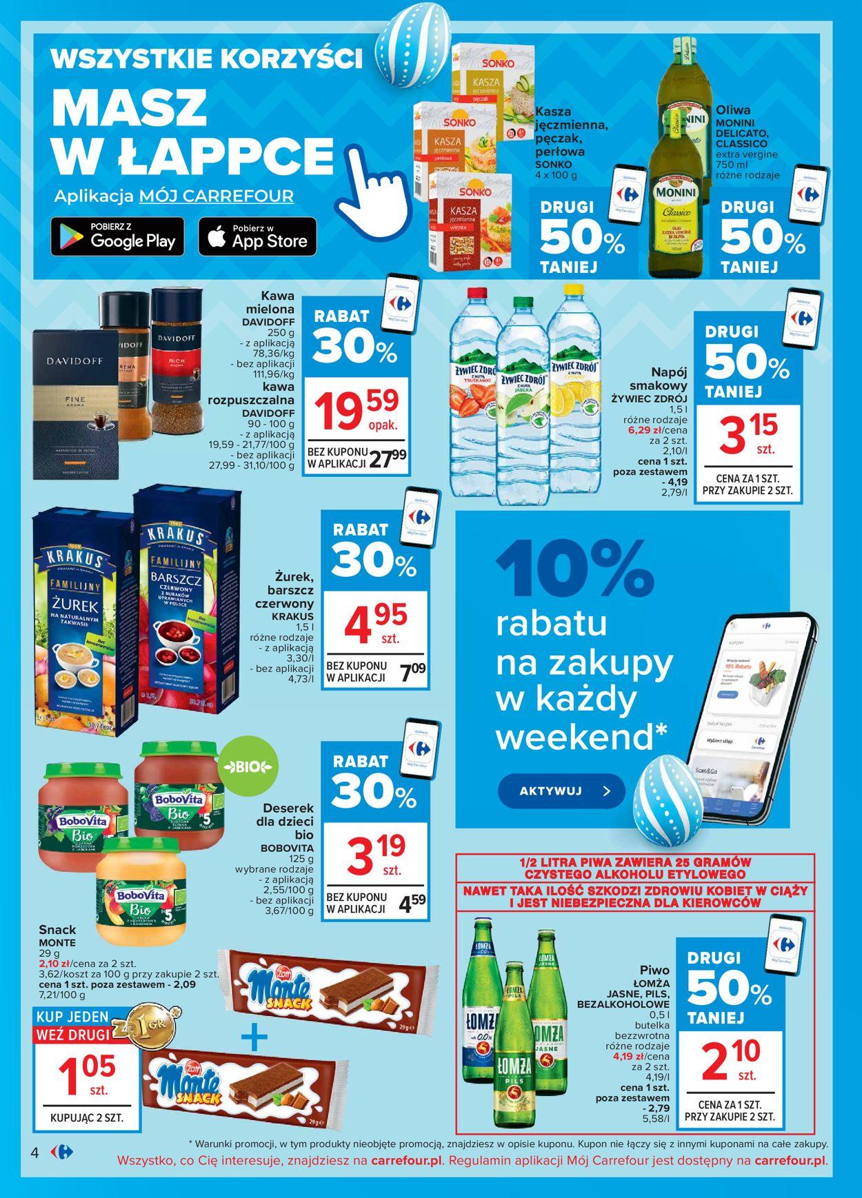 Gazetka promocyjna Carrefour Wielkanoc 2021! - 29.03-03.04.2021 (Strona 4)