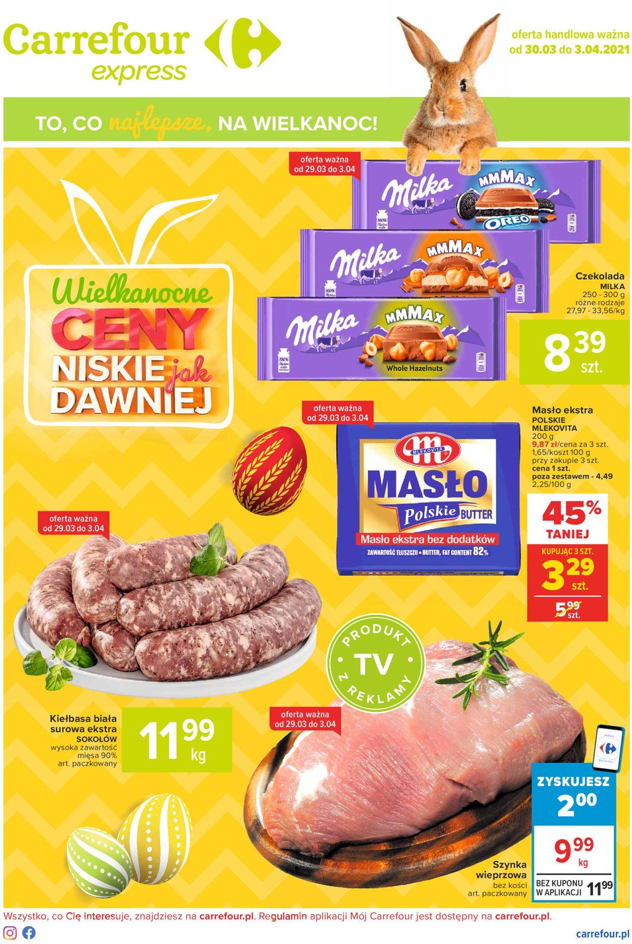Gazetka promocyjna Carrefour Wielkanoc 2021! - 30.03-03.04.2021