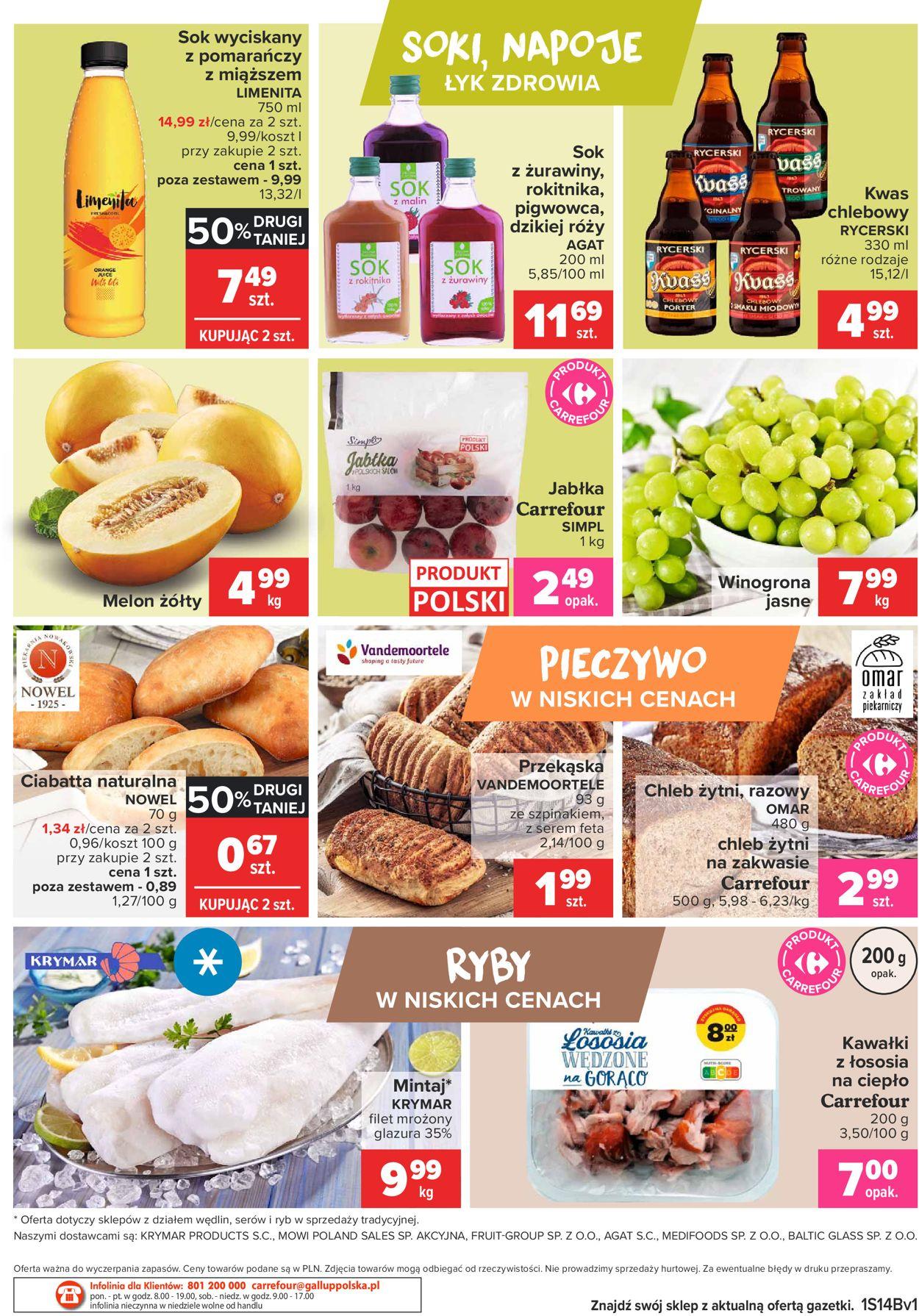 Gazetka promocyjna Carrefour Targ świeżości - 06.04-12.04.2021 (Strona 2)