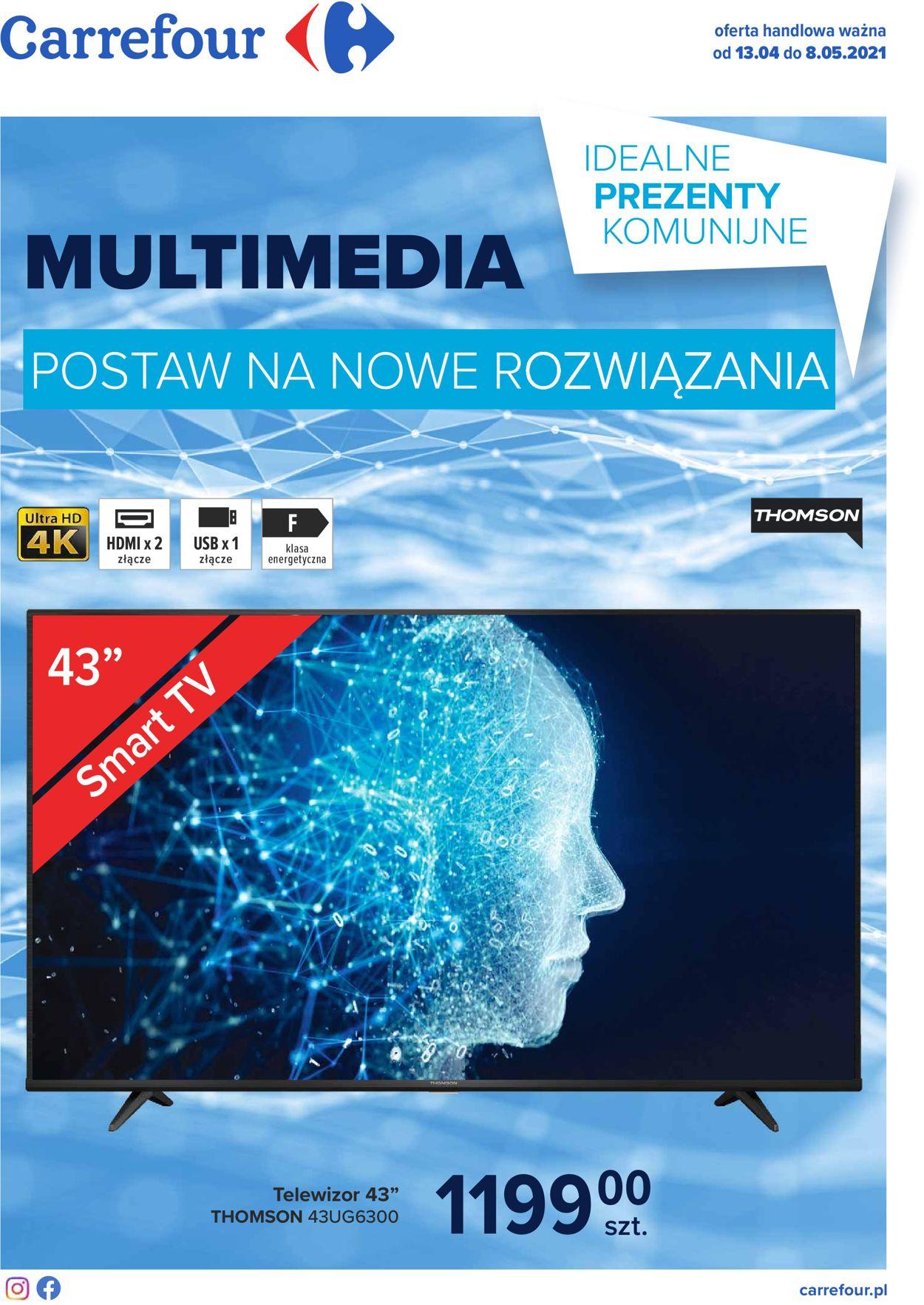 Gazetka promocyjna Carrefour - 13.04-08.05.2021