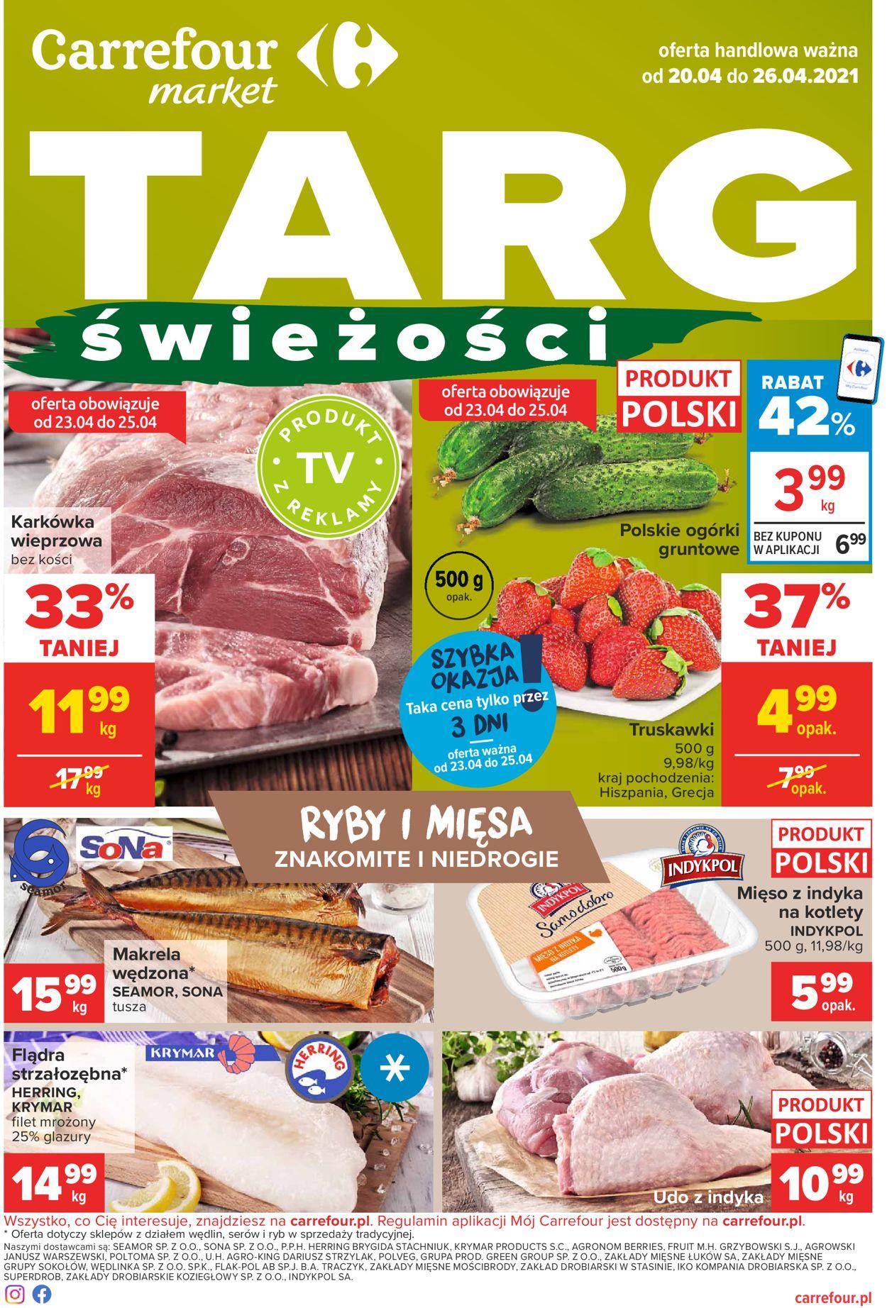 Gazetka promocyjna Carrefour - 20.04-26.04.2021