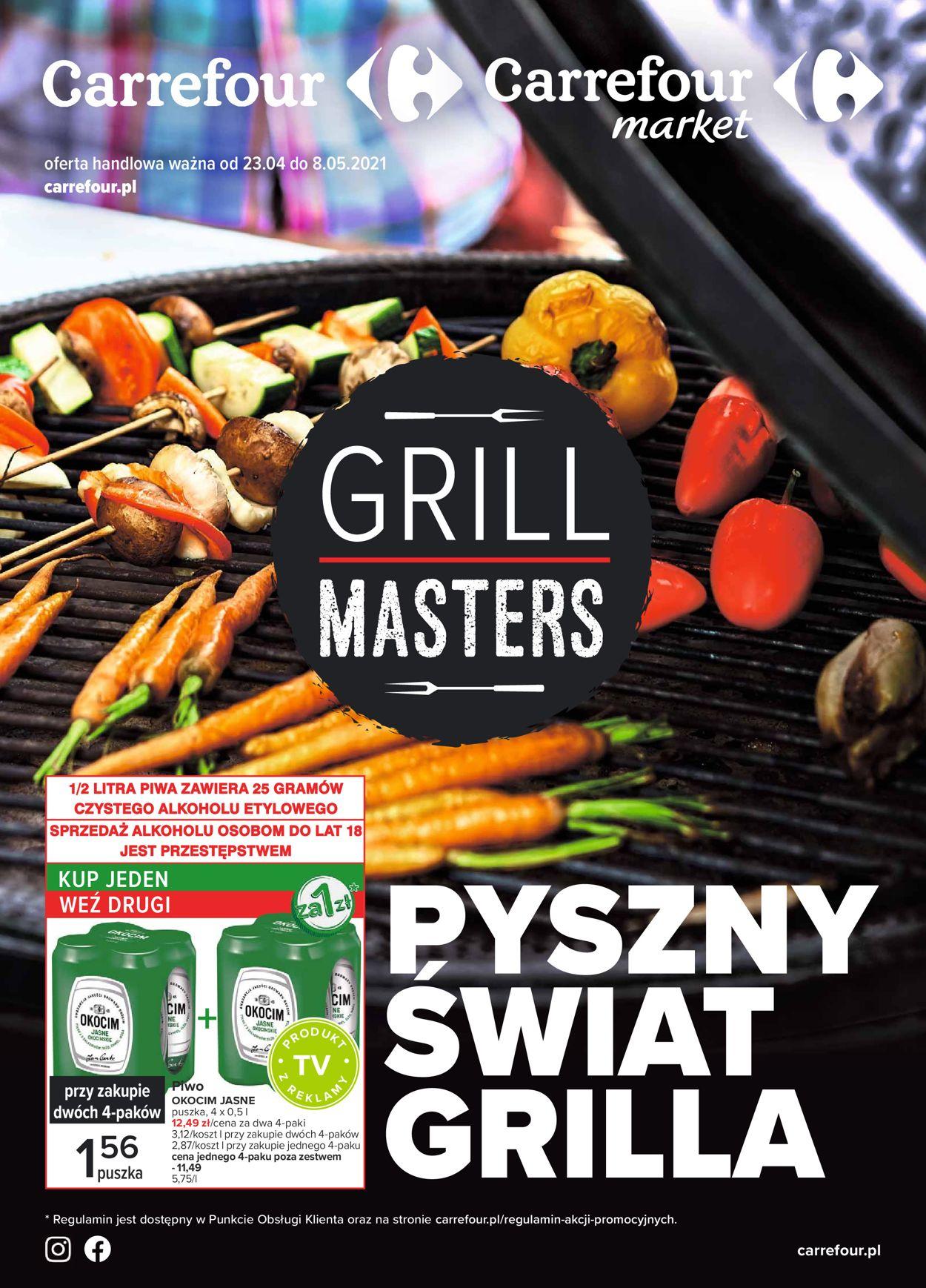 Gazetka promocyjna Carrefour Pyszny świat grilla - 23.04-08.05.2021