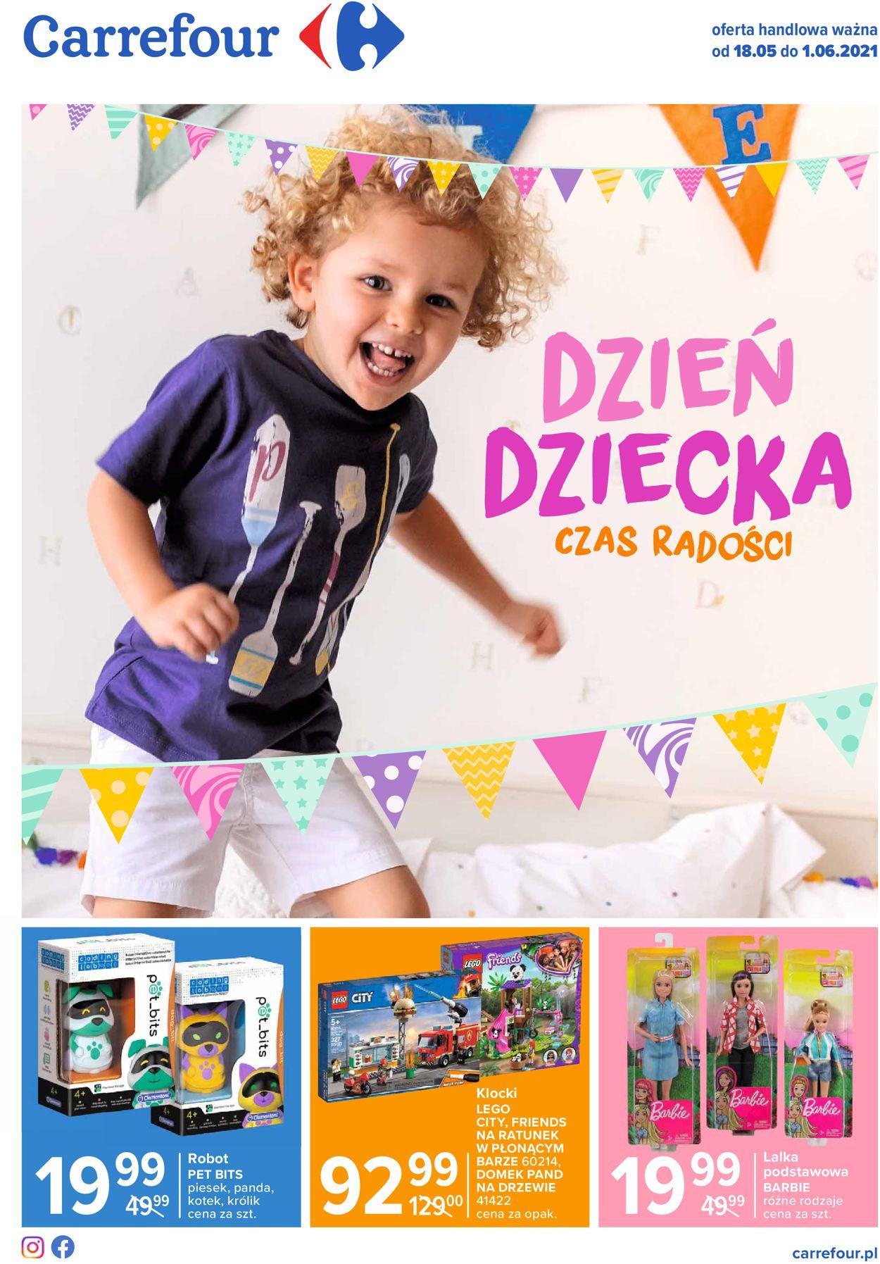 Gazetka promocyjna Carrefour Dzień Dziecka - 18.05-01.06.2021