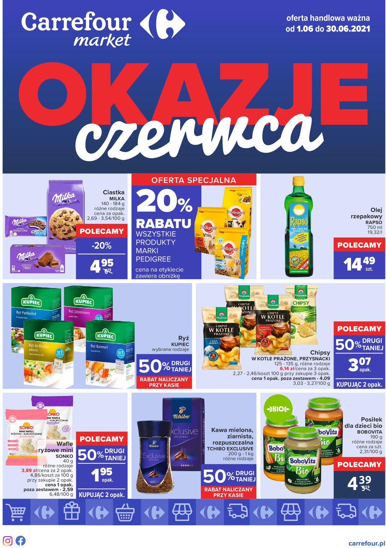 Gazetka promocyjna Carrefour - 01.06-30.06.2021