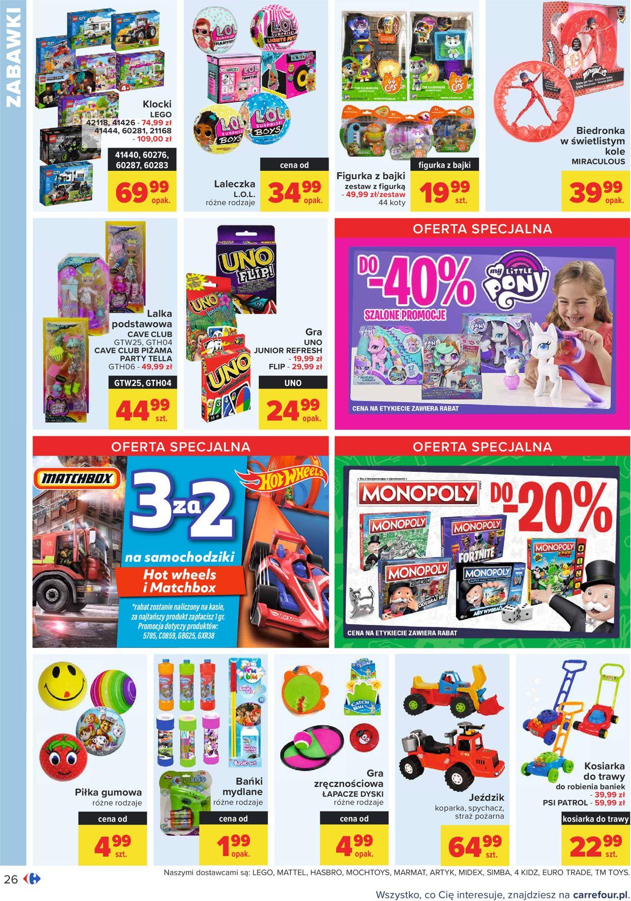 Gazetka promocyjna Carrefour - 15.06-27.06.2021 (Strona 26)