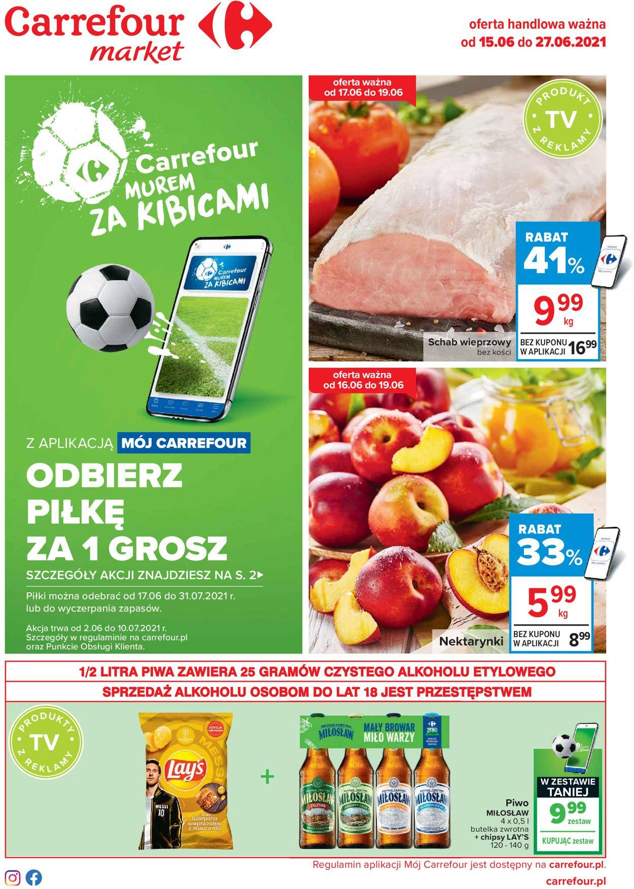 Gazetka promocyjna Carrefour - 15.06-27.06.2021
