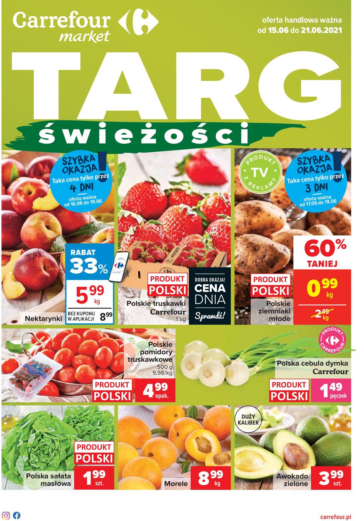 Gazetka promocyjna Carrefour - 15.06-21.06.2021