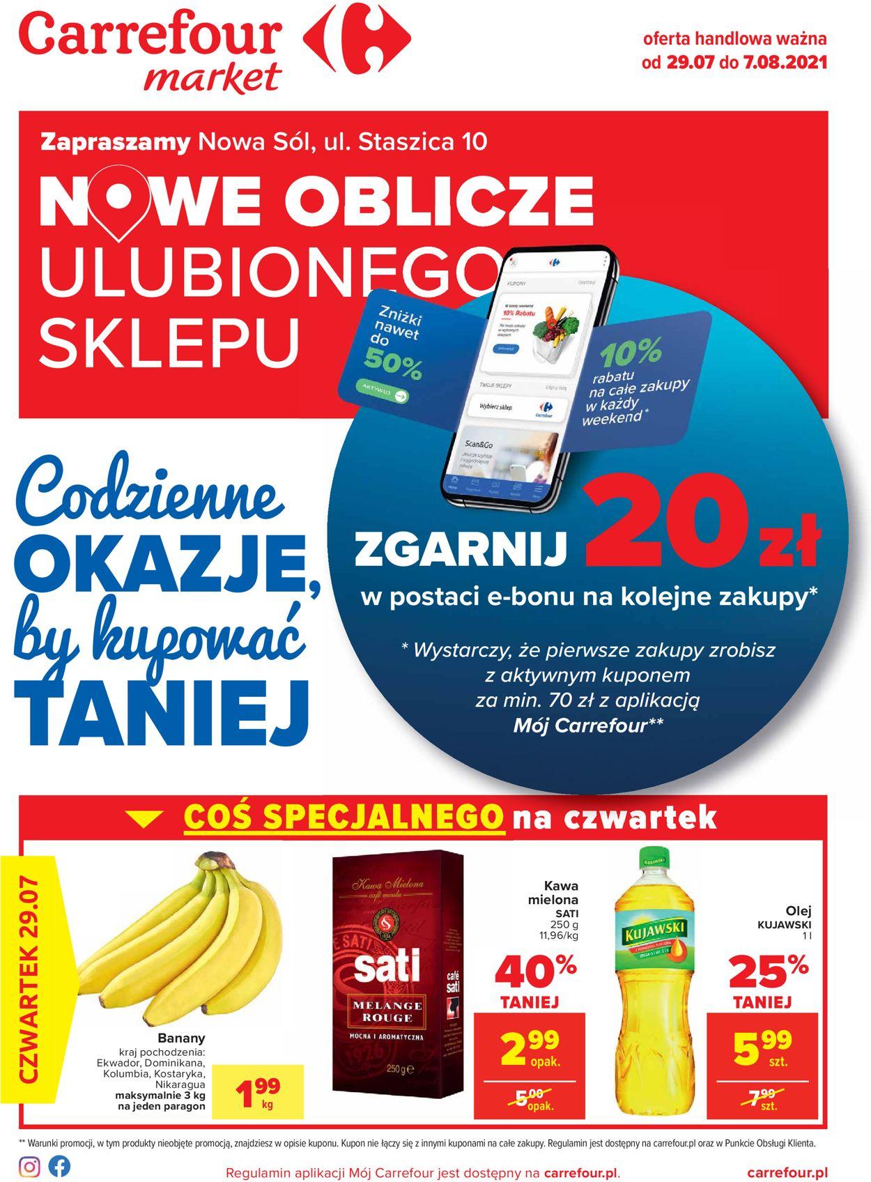 Gazetka promocyjna Carrefour - 29.07-07.08.2021