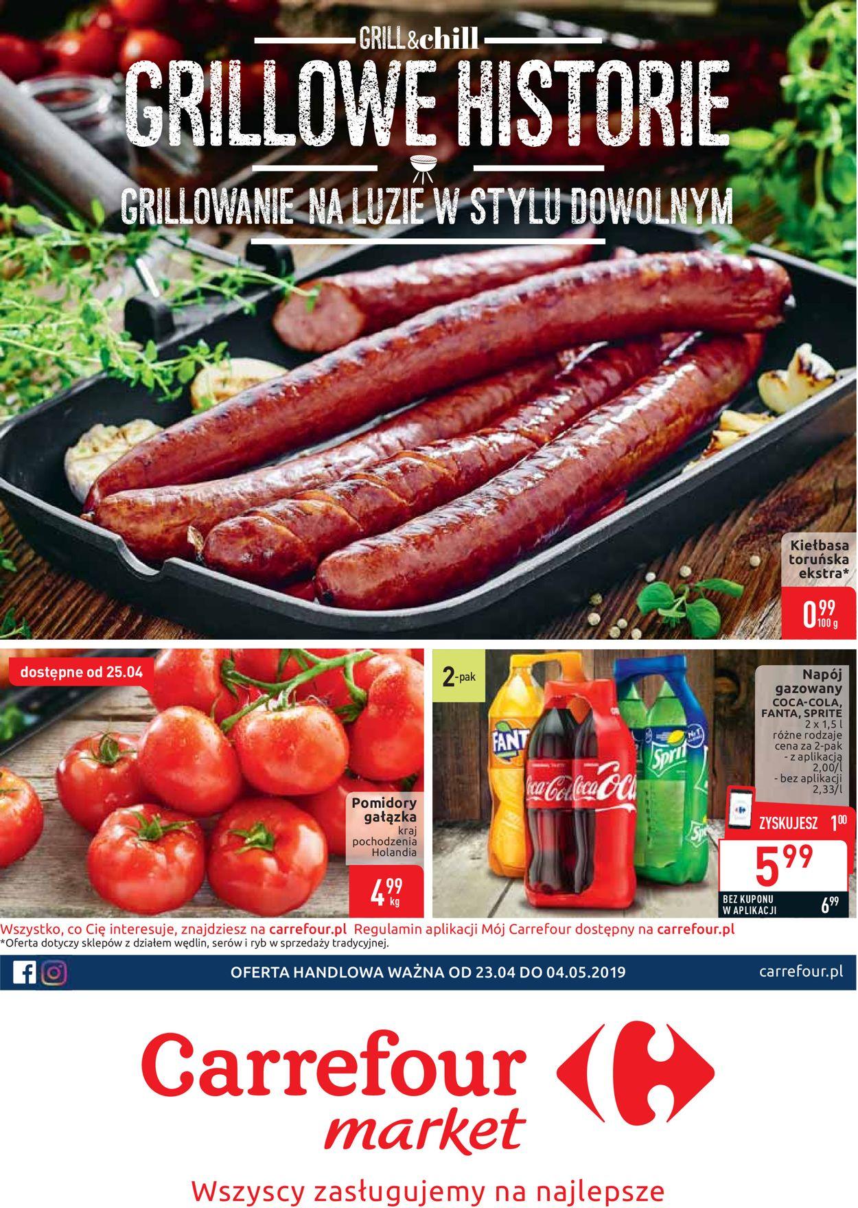 Gazetka promocyjna Carrefour - 23.04-04.05.2019
