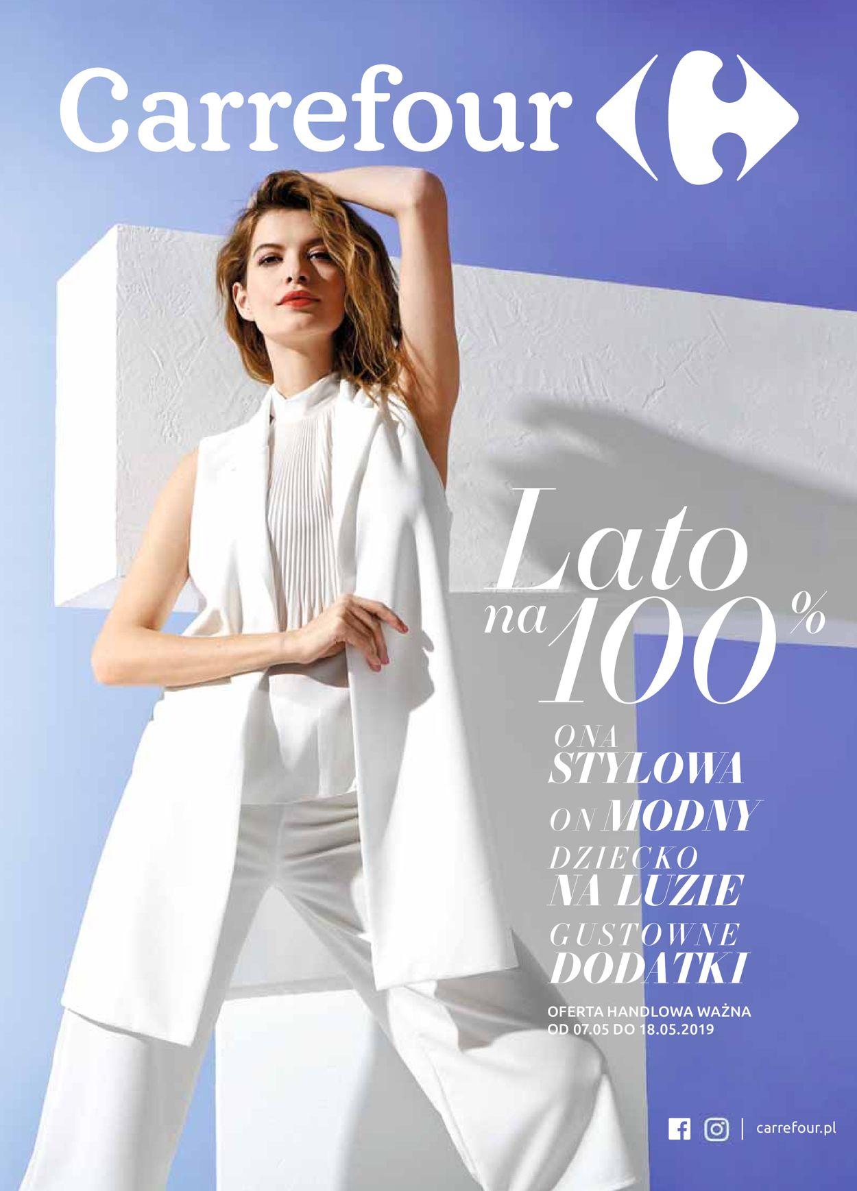 Gazetka promocyjna Carrefour - 07.05-18.05.2019