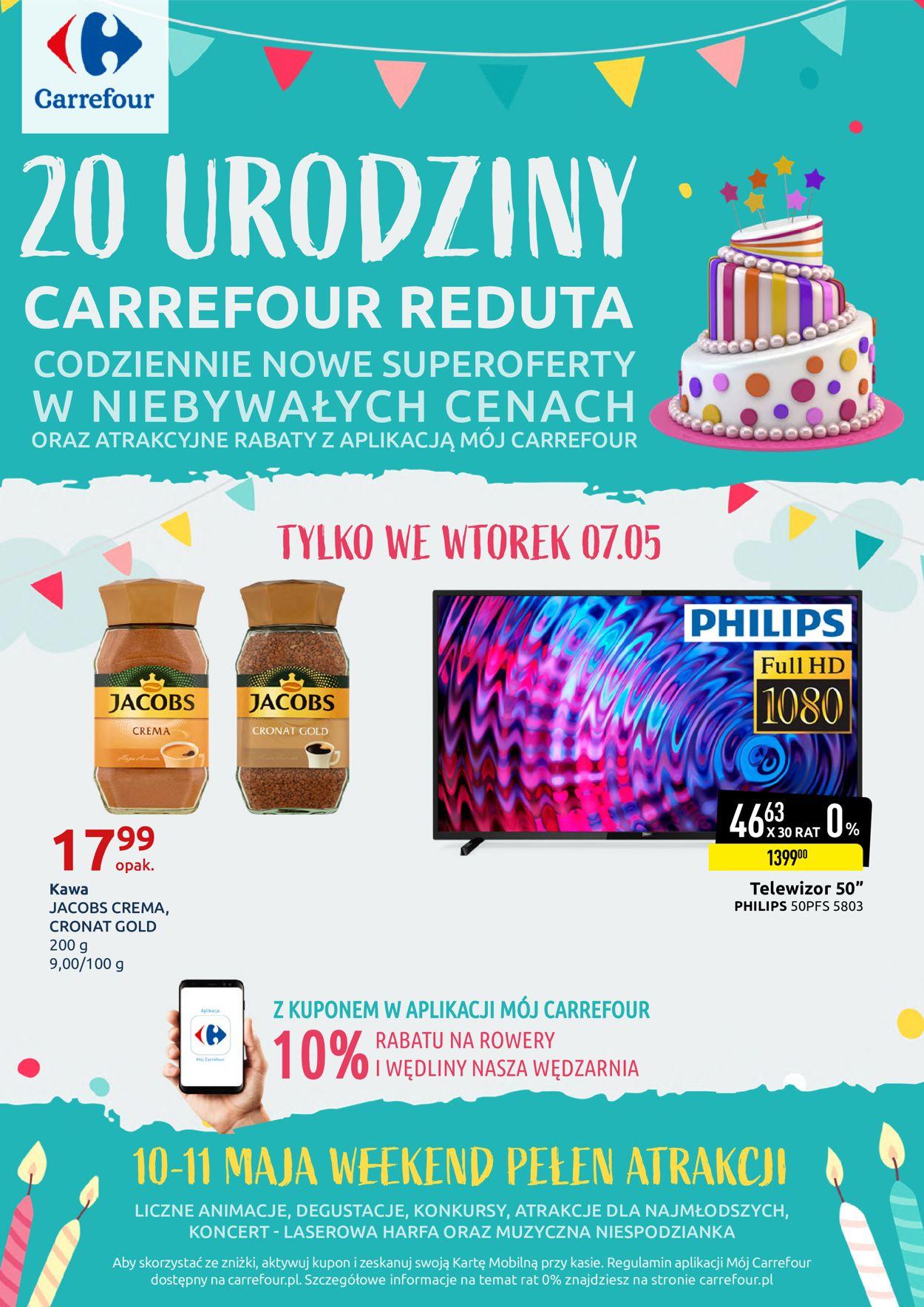 Gazetka promocyjna Carrefour - 07.05-11.05.2019