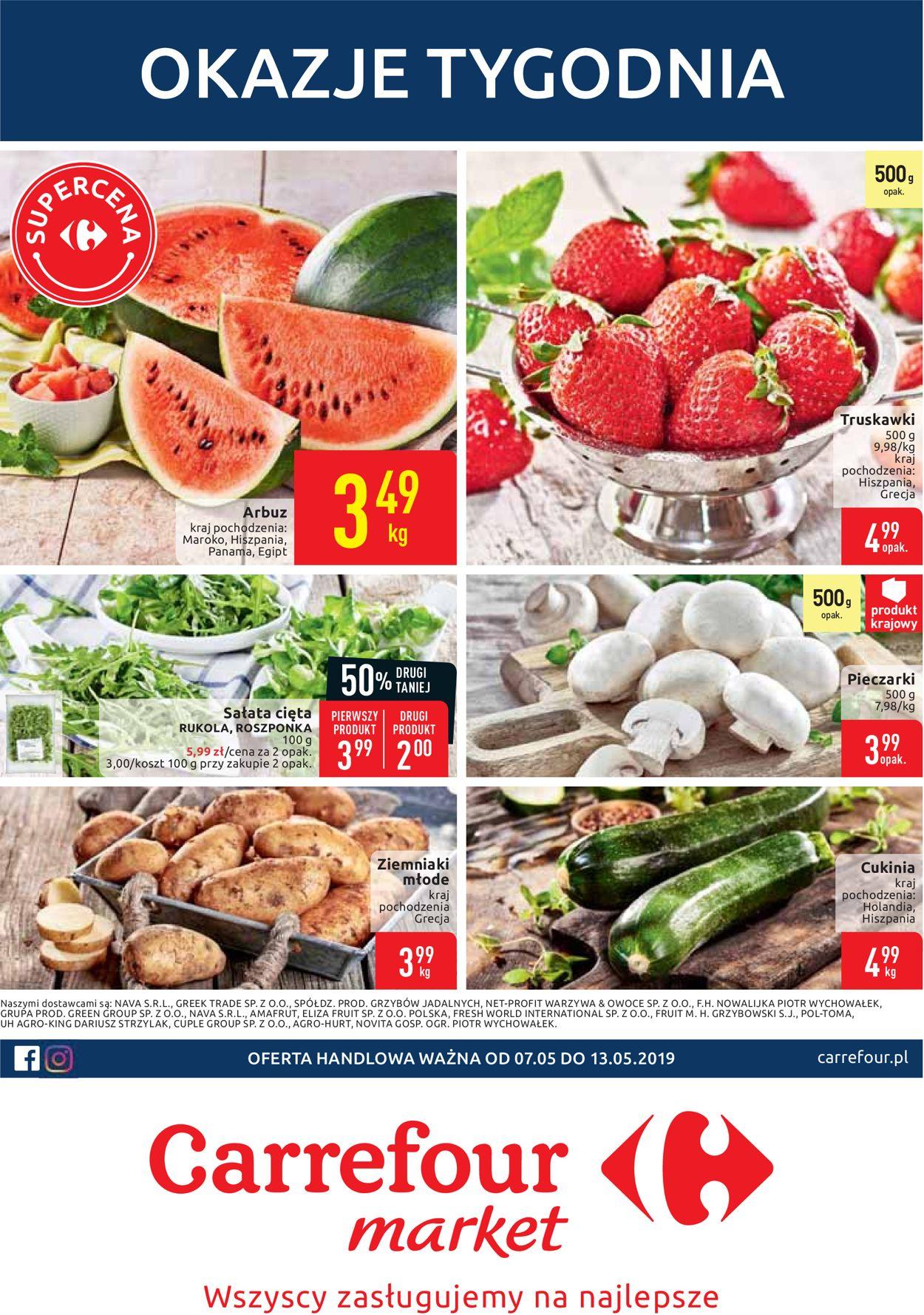 Gazetka promocyjna Carrefour - 07.05-13.05.2019