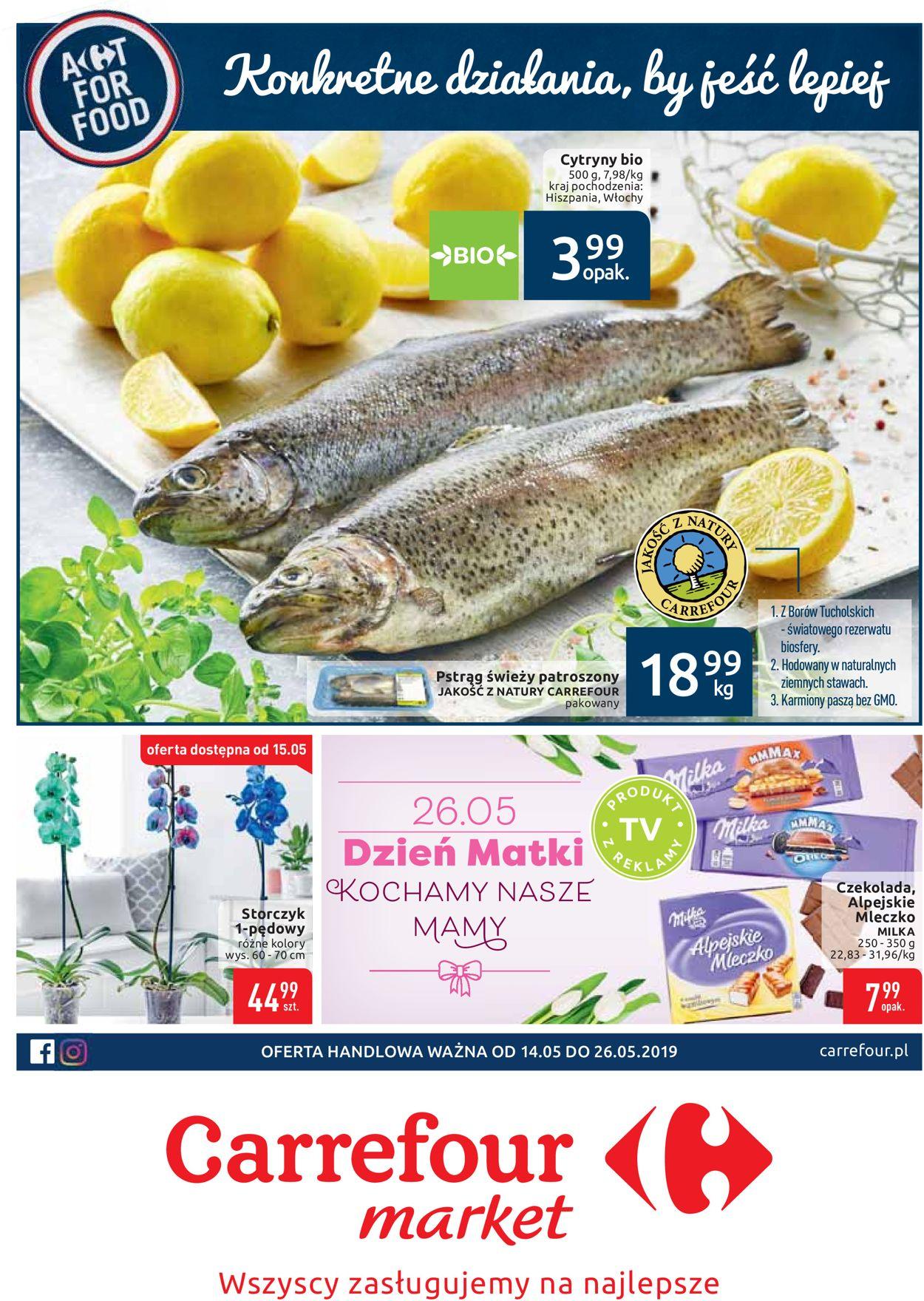 Gazetka promocyjna Carrefour - 14.05-26.05.2019