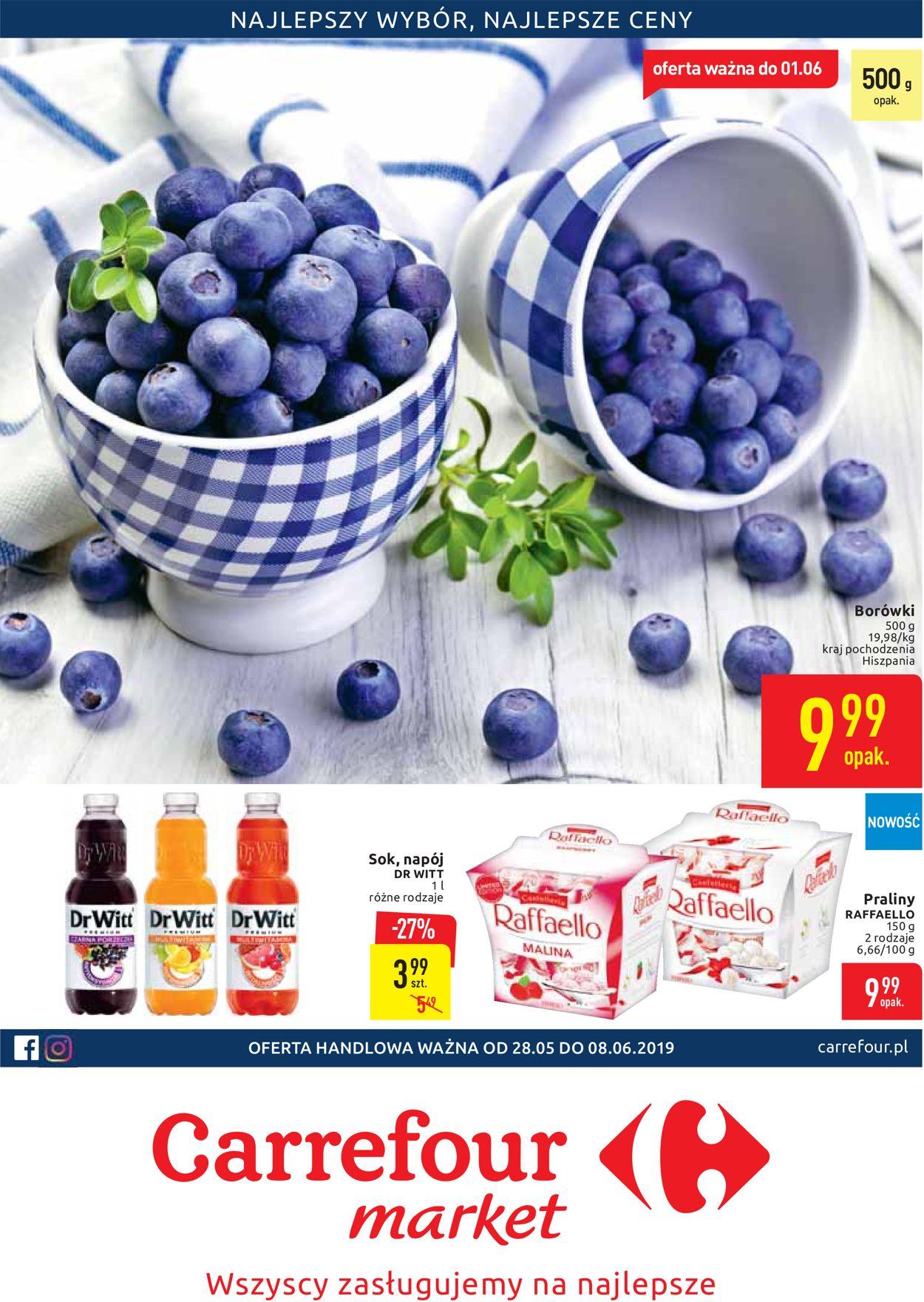 Gazetka promocyjna Carrefour - 28.05-08.06.2019