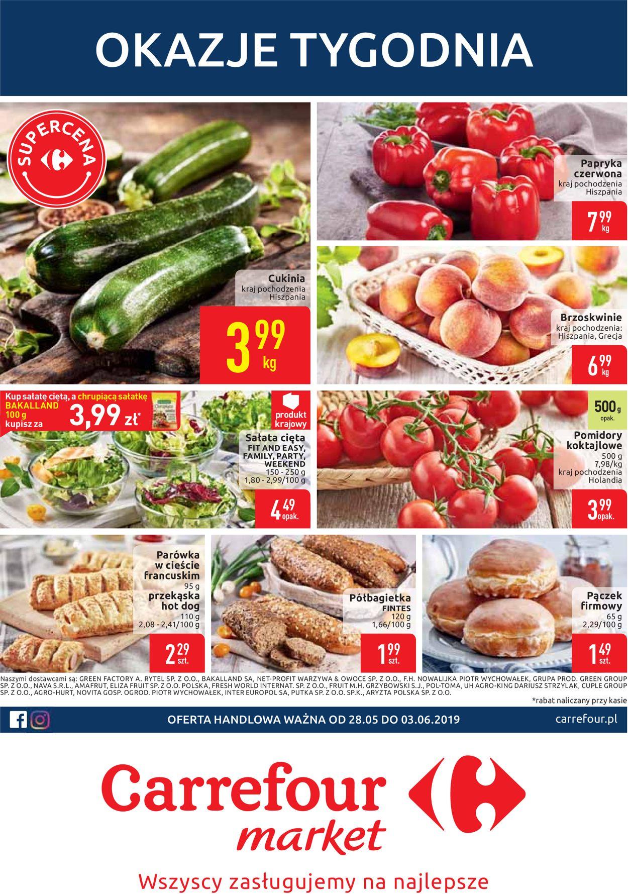 Gazetka promocyjna Carrefour - 28.05-03.06.2019