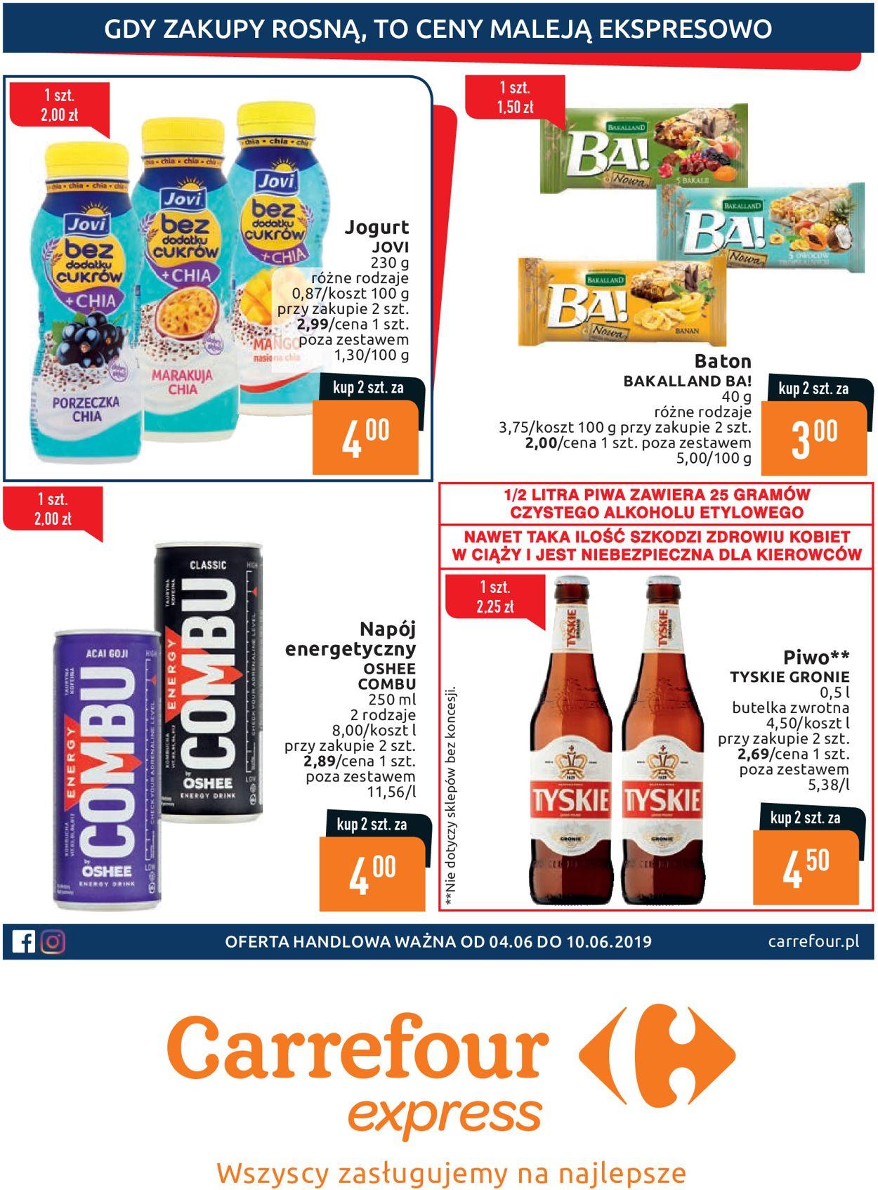 Gazetka promocyjna Carrefour - 04.06-10.06.2019
