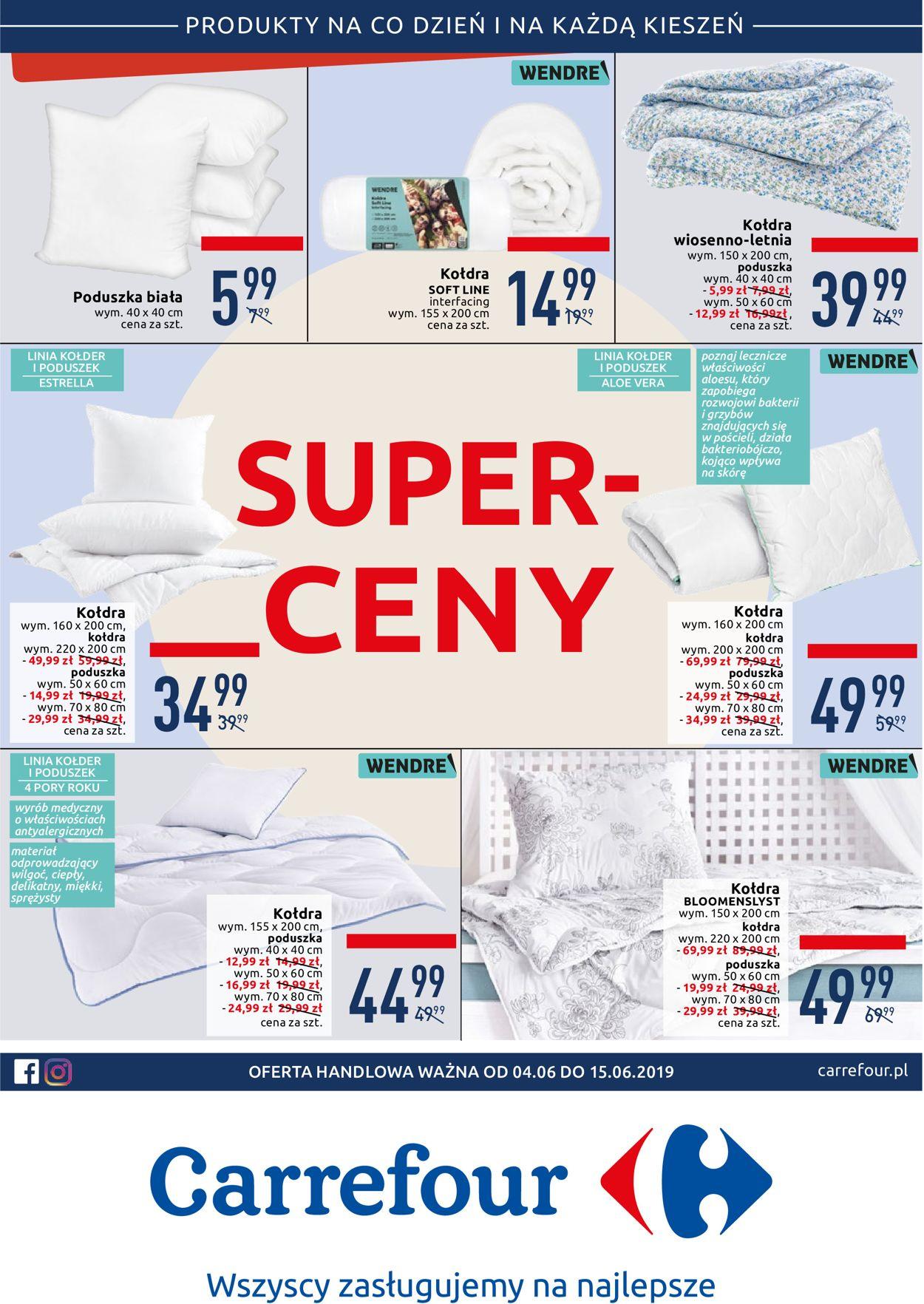 Gazetka promocyjna Carrefour - 04.06-15.06.2019