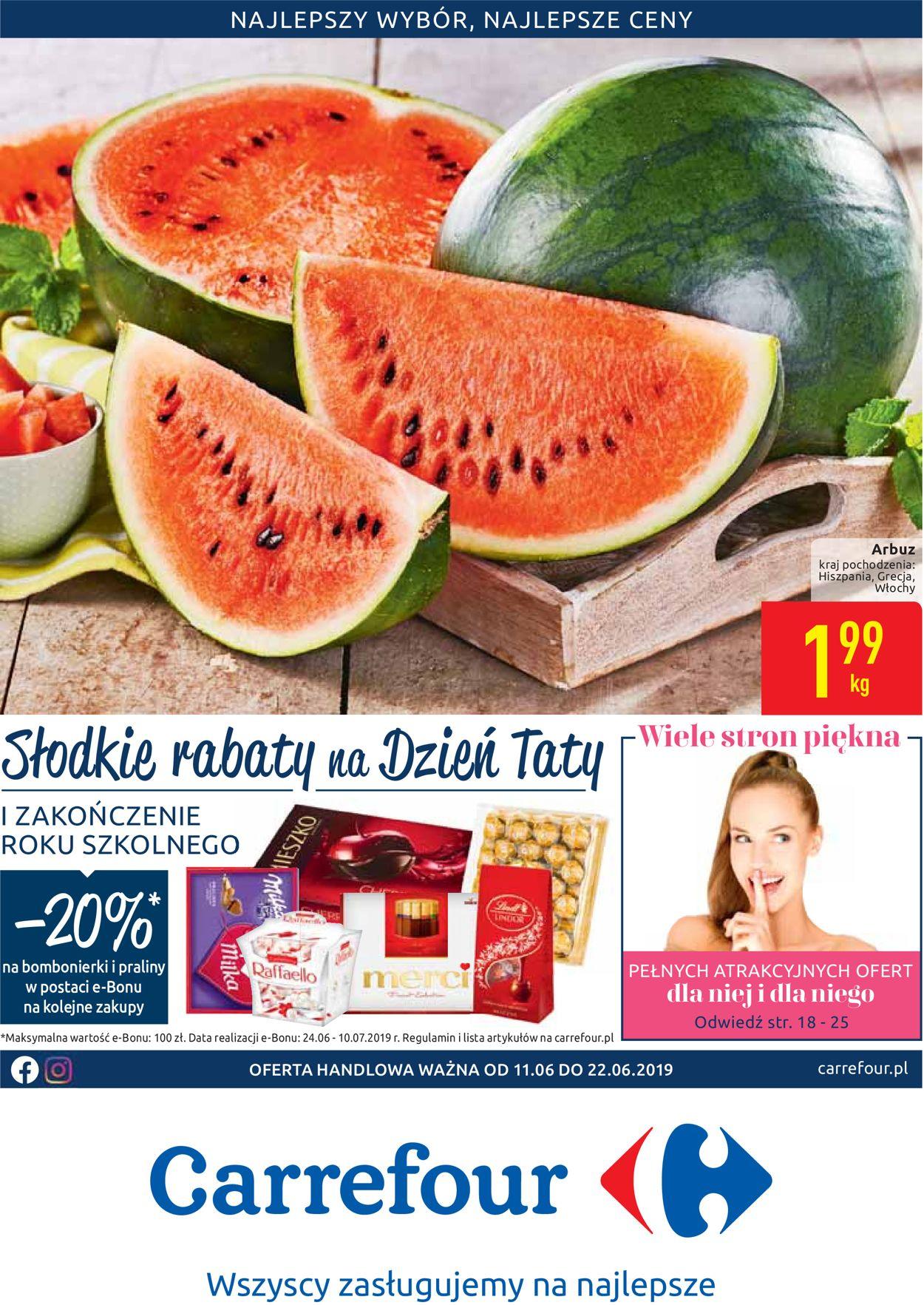 Gazetka promocyjna Carrefour - 11.06-22.06.2019