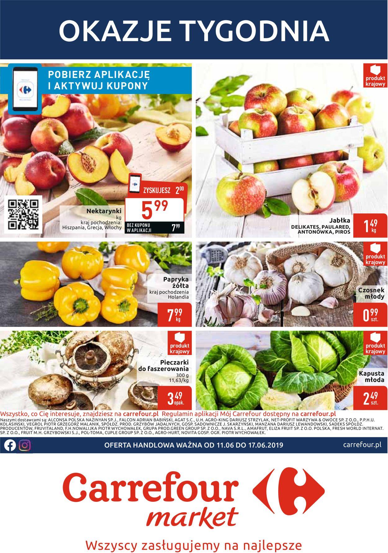 Gazetka promocyjna Carrefour - 11.06-17.06.2019