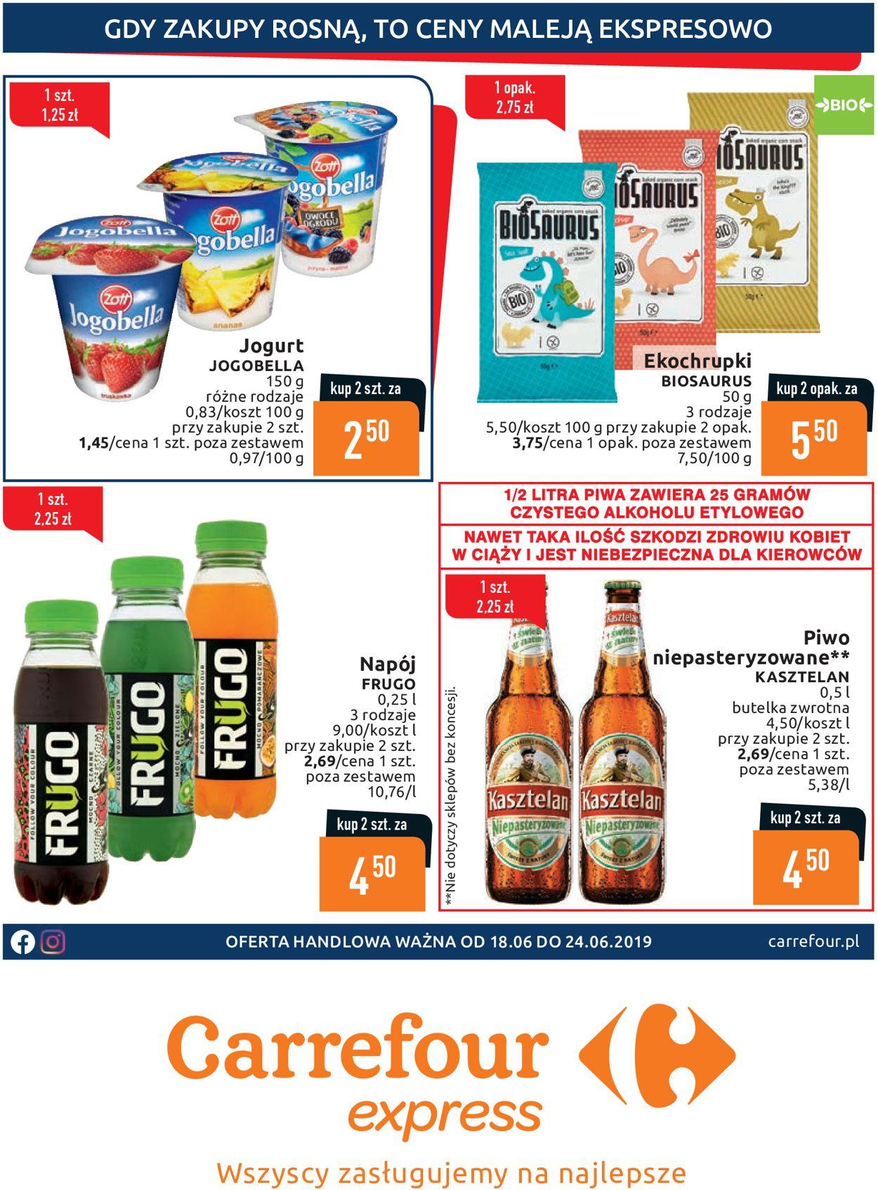 Gazetka promocyjna Carrefour - 18.06-24.06.2019