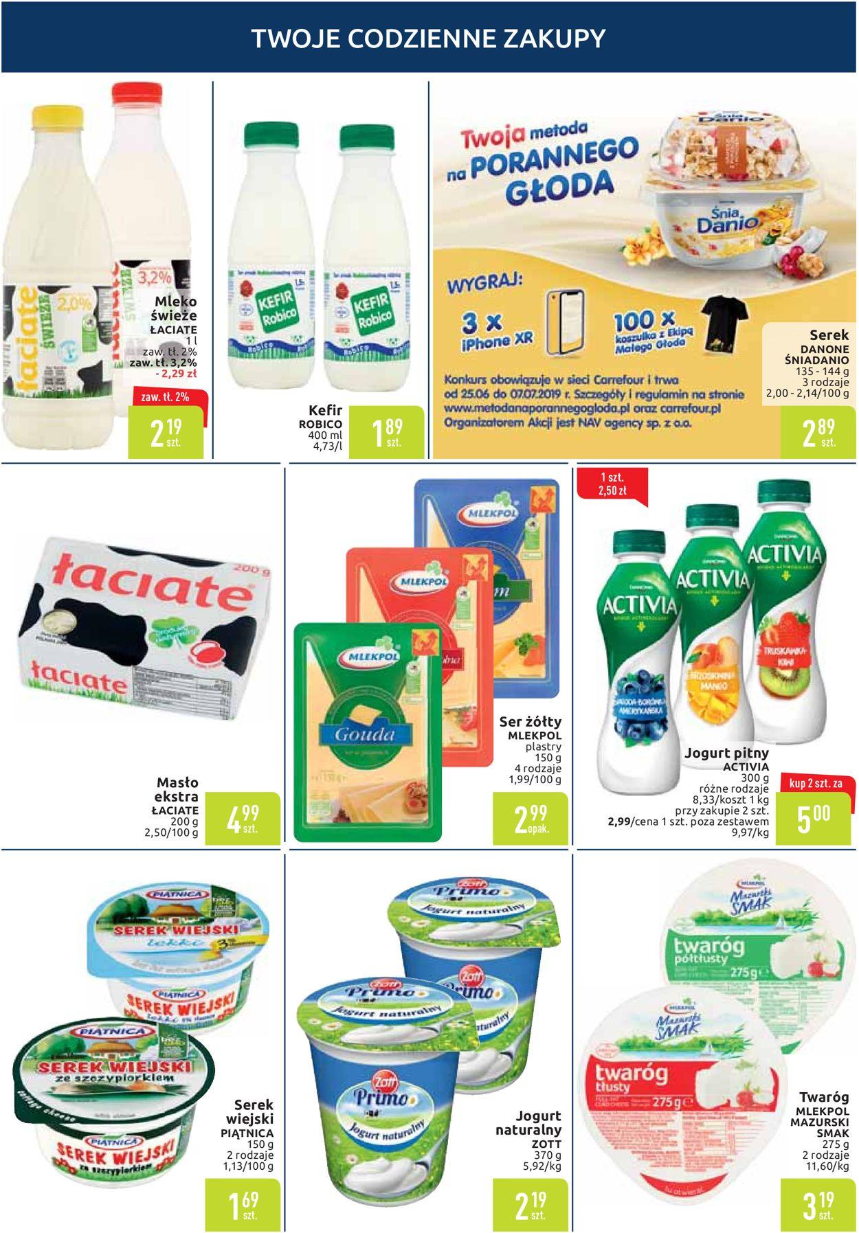 Gazetka promocyjna Carrefour - 25.06-01.07.2019 (Strona 3)