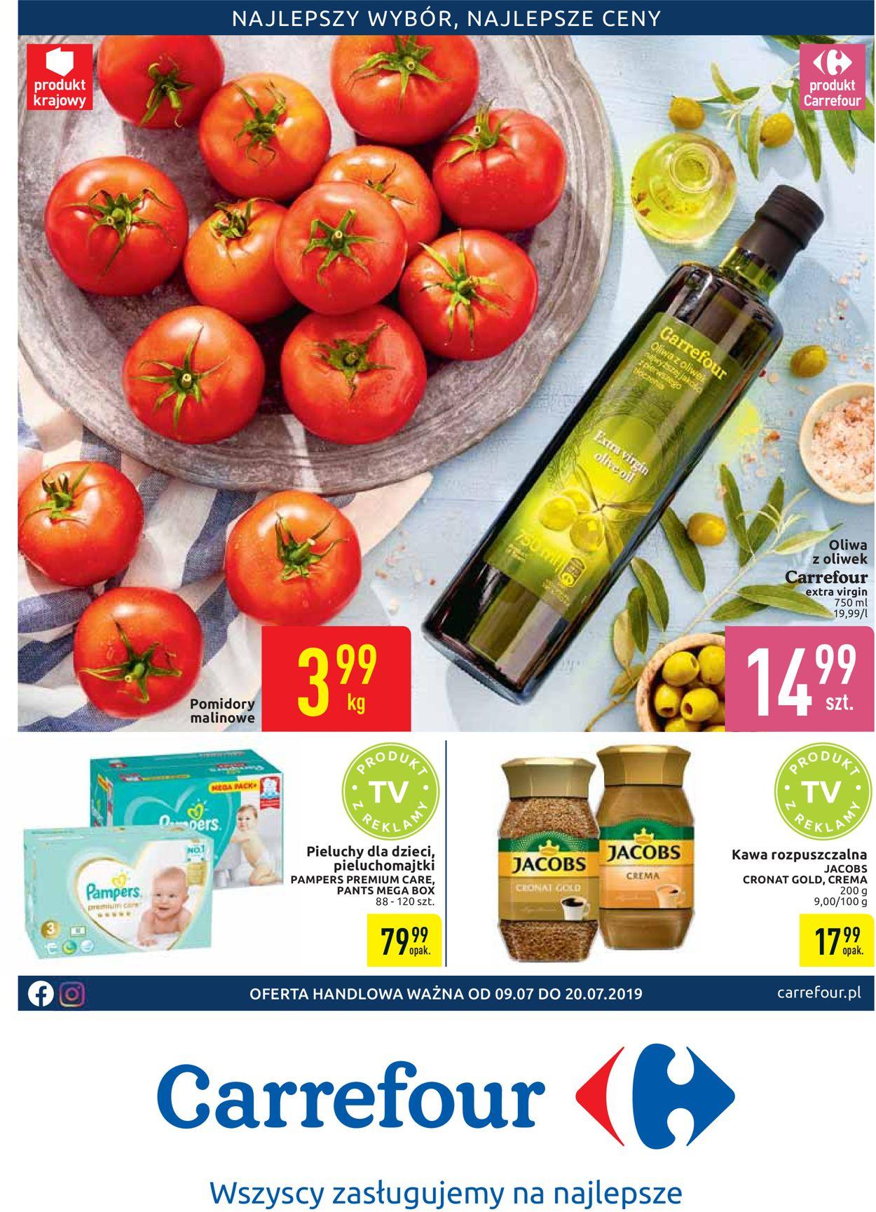Gazetka promocyjna Carrefour - 09.07-20.07.2019