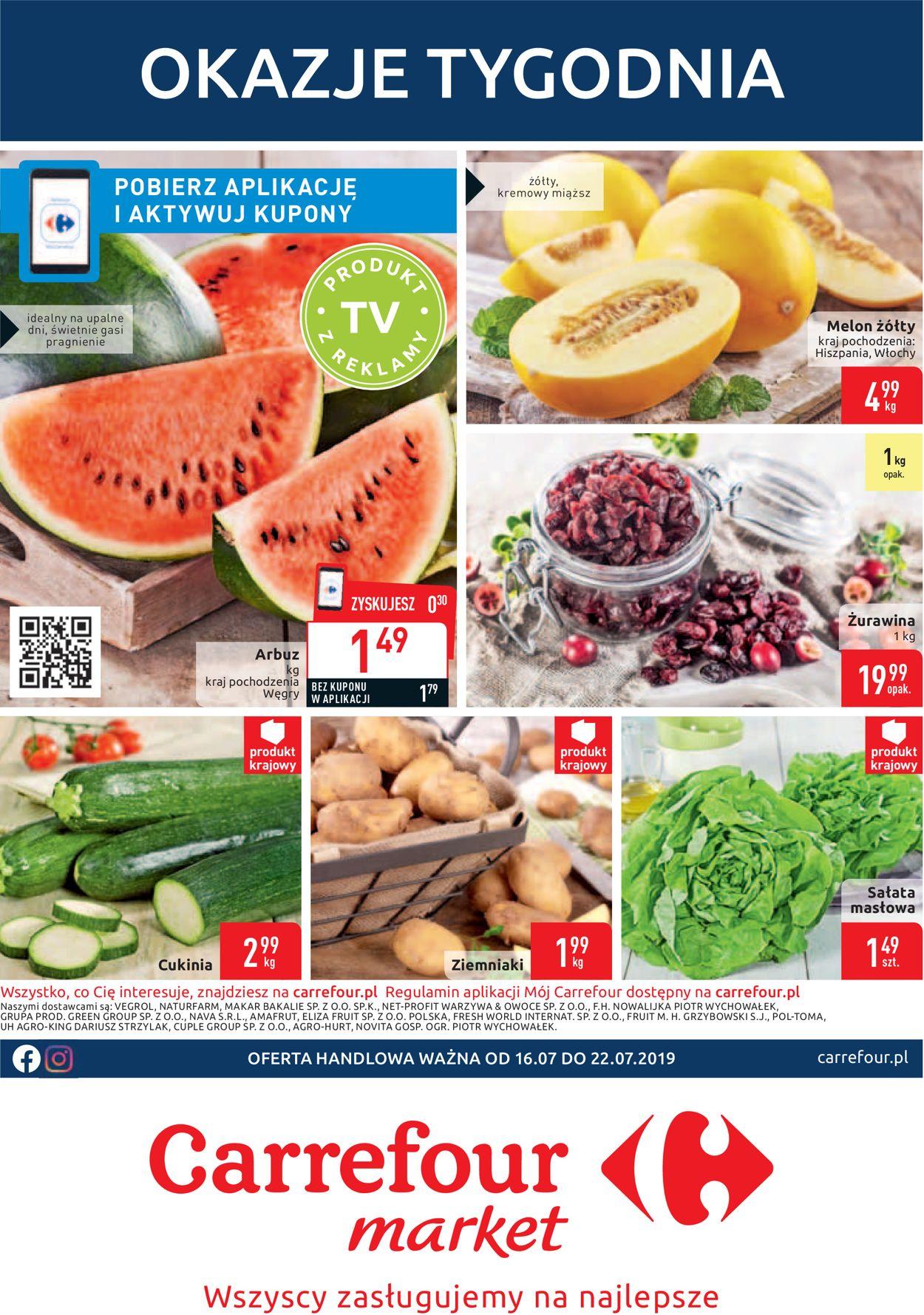Gazetka promocyjna Carrefour - 16.07-22.07.2019