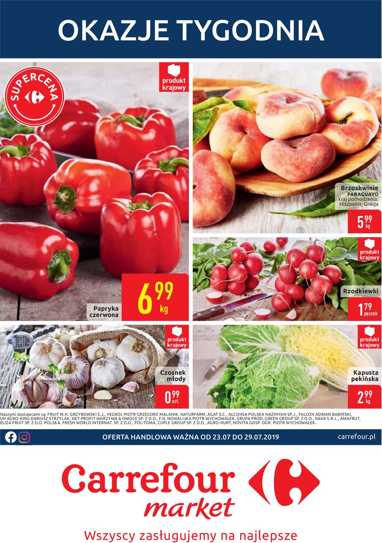 Gazetka promocyjna Carrefour - 23.07-29.07.2019