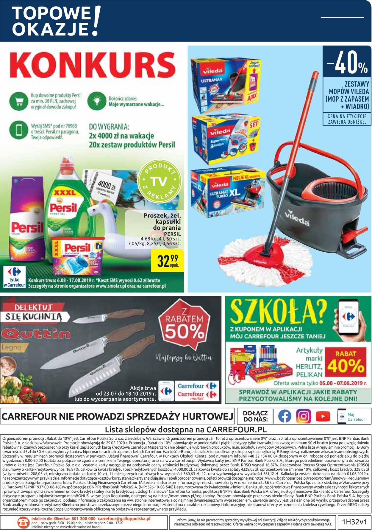 Gazetka promocyjna Carrefour - 06.08-17.08.2019 (Strona 36)