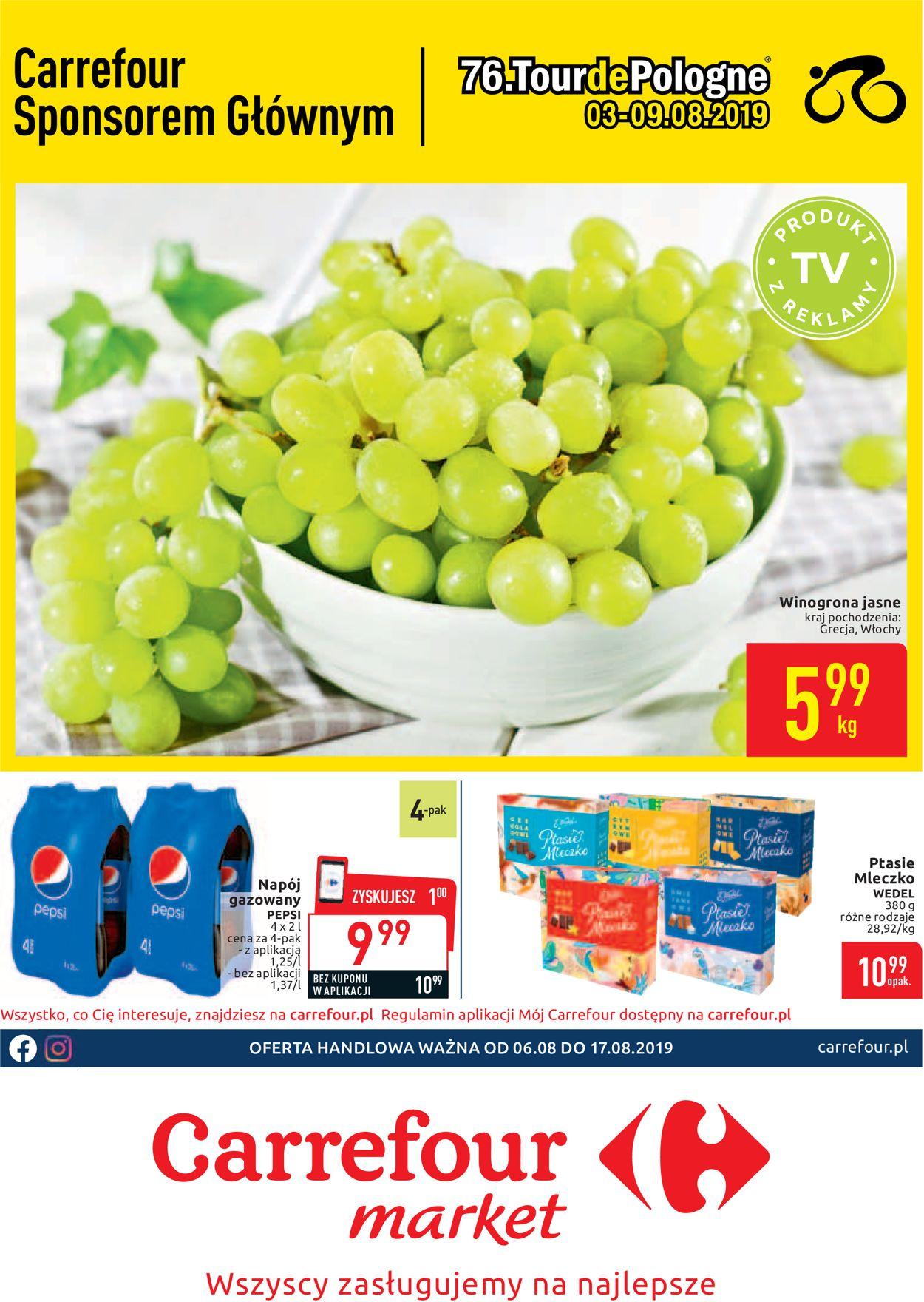 Gazetka promocyjna Carrefour - 06.08-17.08.2019