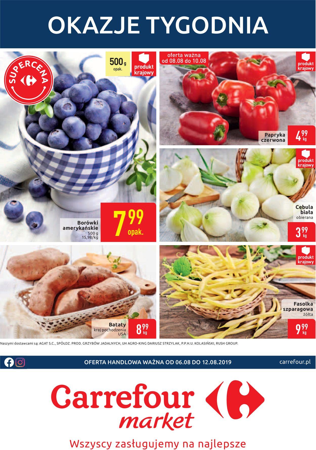 Gazetka promocyjna Carrefour - 06.08-12.08.2019