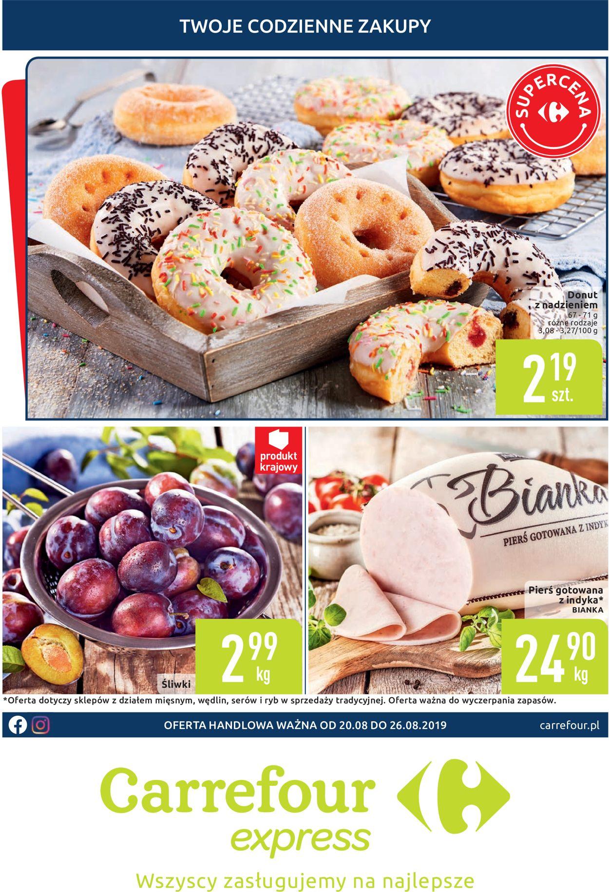 Gazetka promocyjna Carrefour - 20.08-26.08.2019