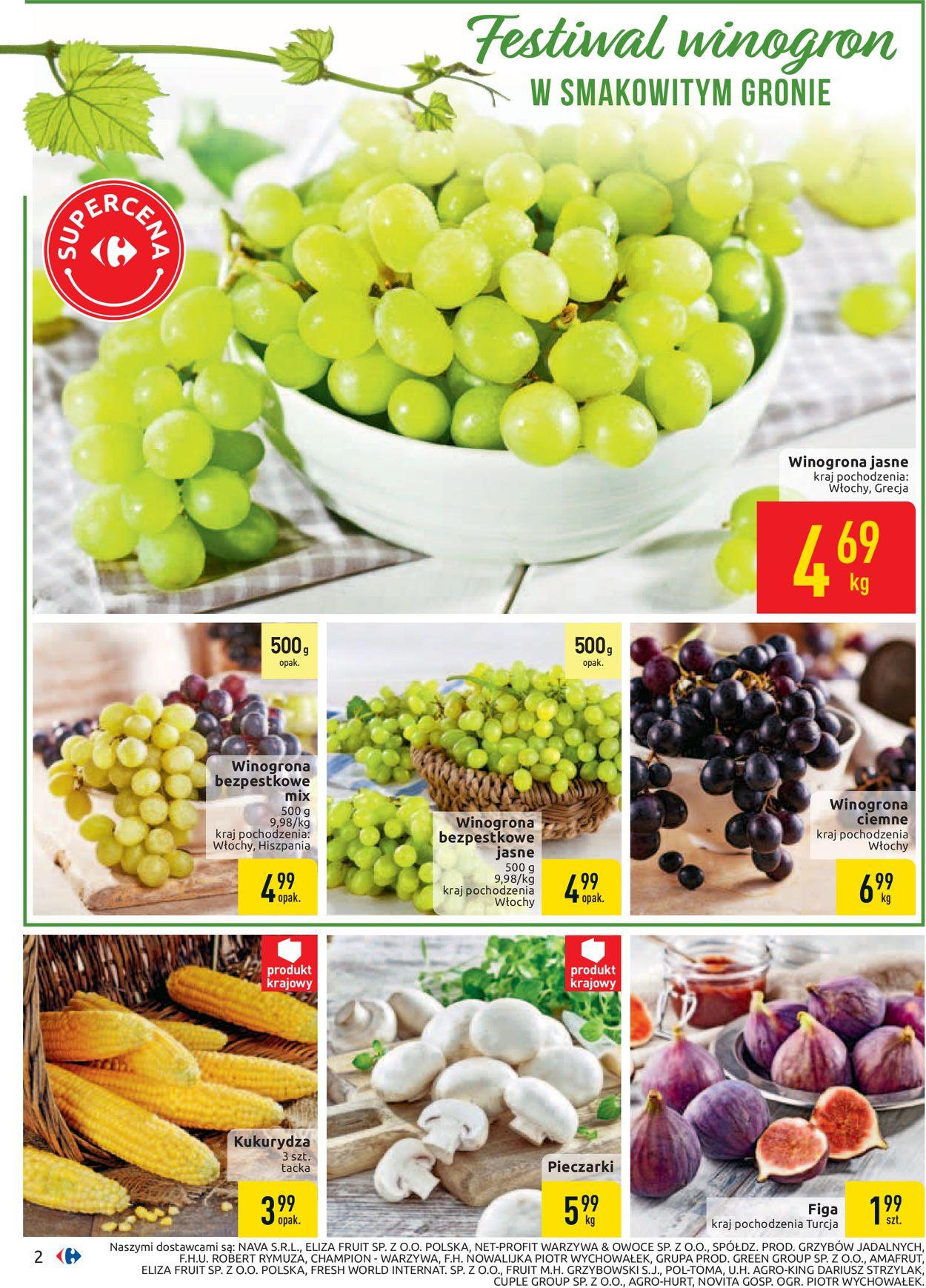 Gazetka promocyjna Carrefour - 03.09-14.09.2019 (Strona 2)