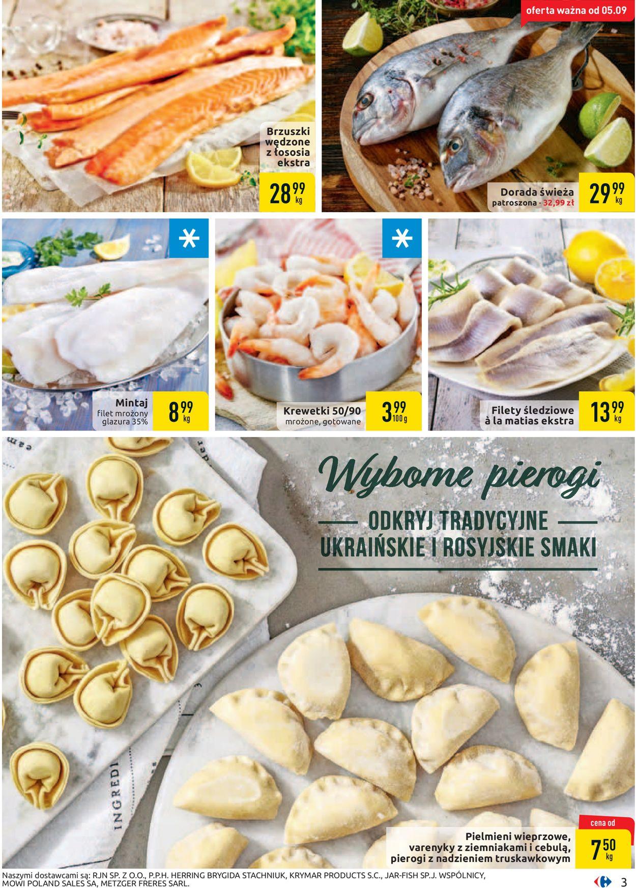Gazetka promocyjna Carrefour - 03.09-14.09.2019 (Strona 3)